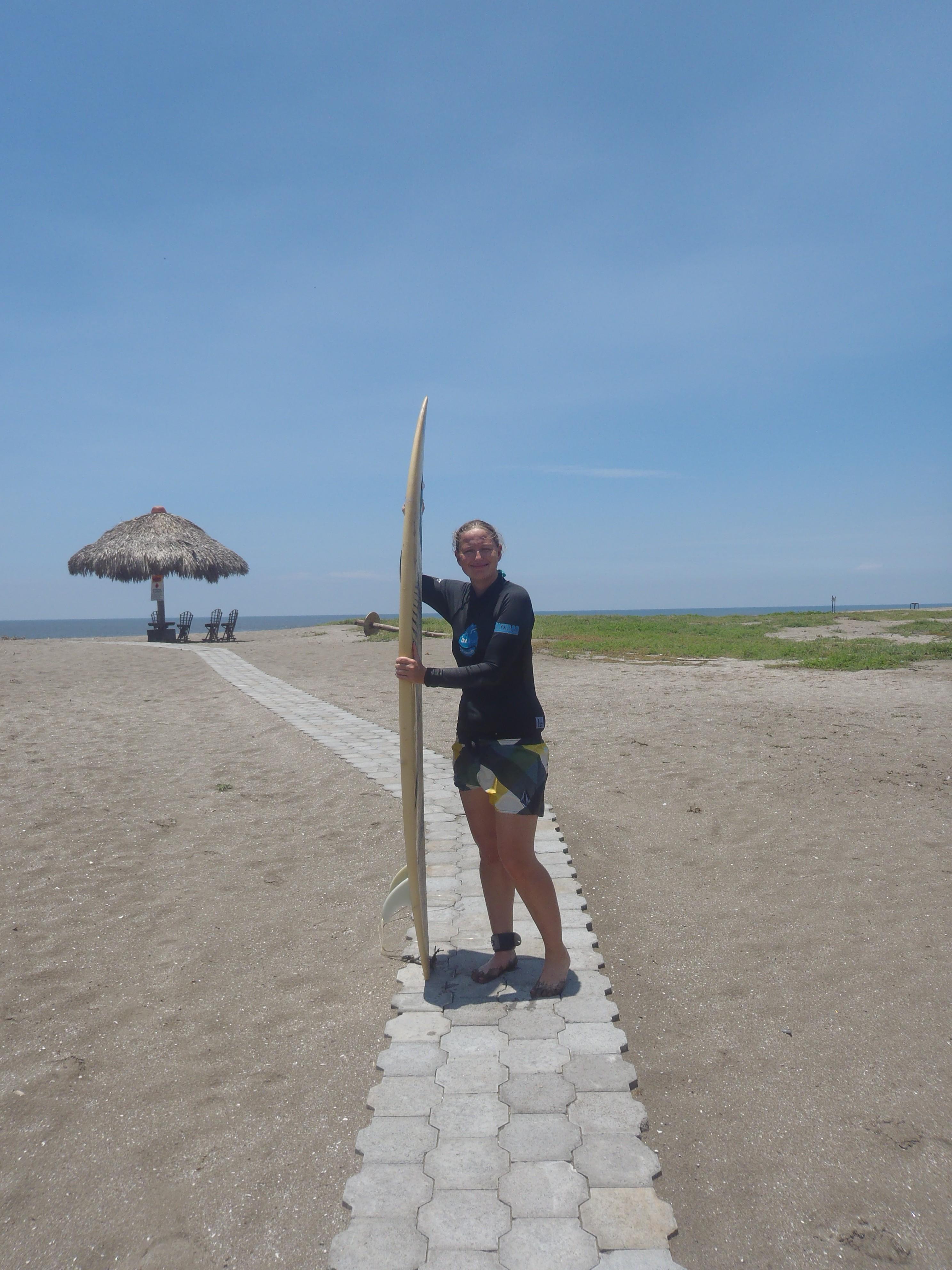 Longboard Surf Shot; Isla Los Brasiles, Nicaragua; 2013