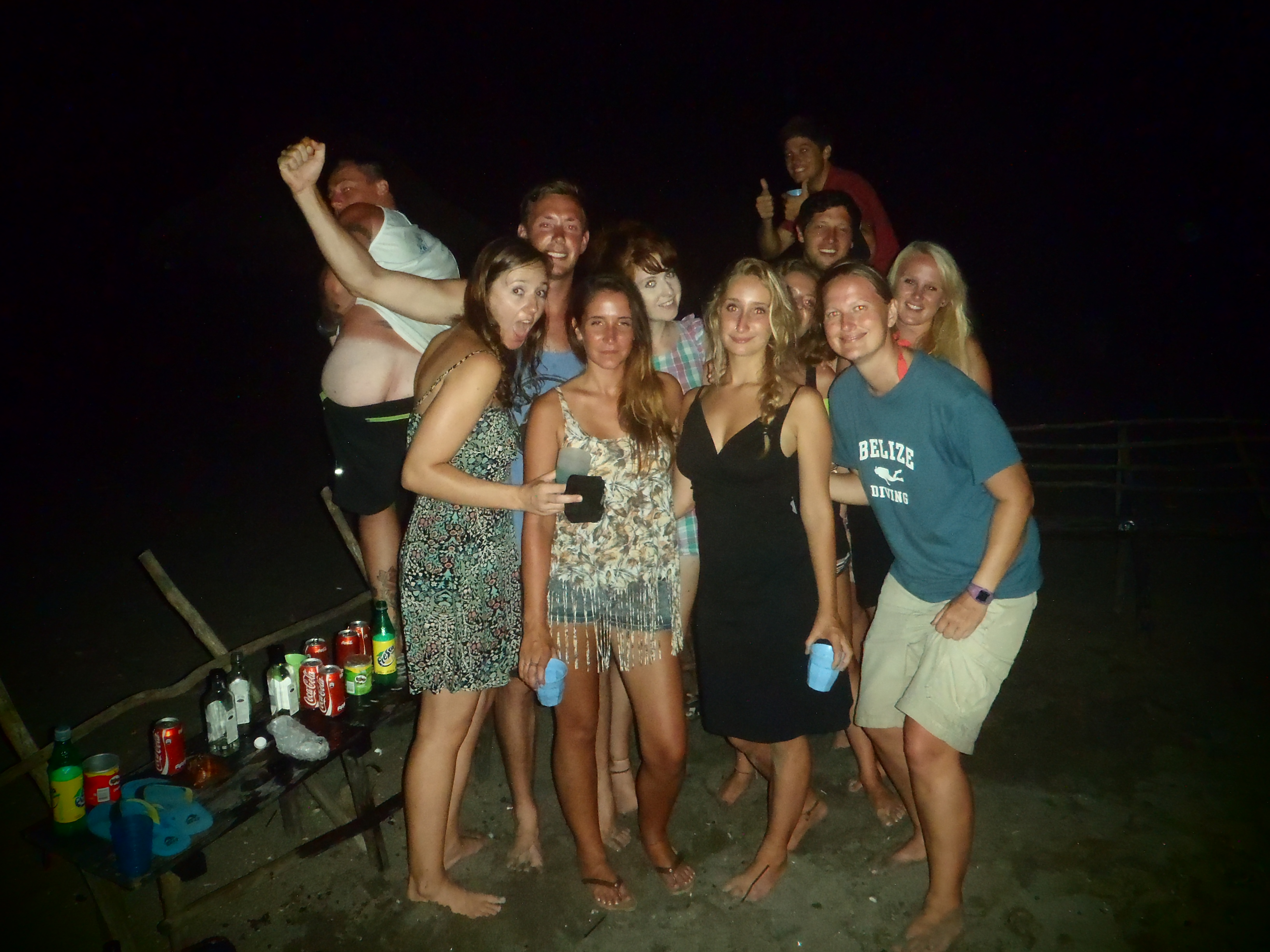 Crazy Weekend with Good Mates; Isla Los Brasiles, Nicaragua; 2013