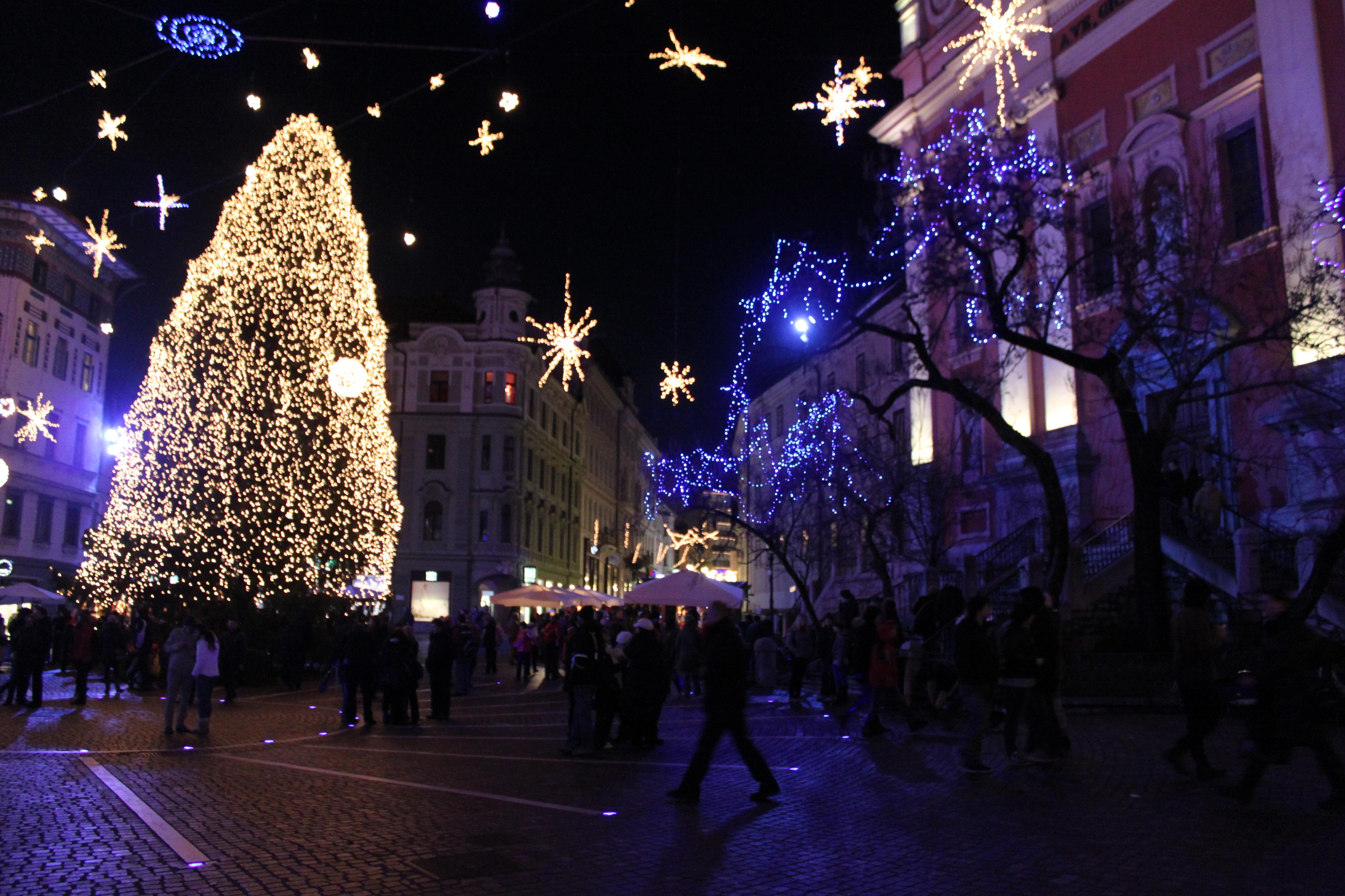 Christmas Tree; Ljubljana, Slovenia; 2011