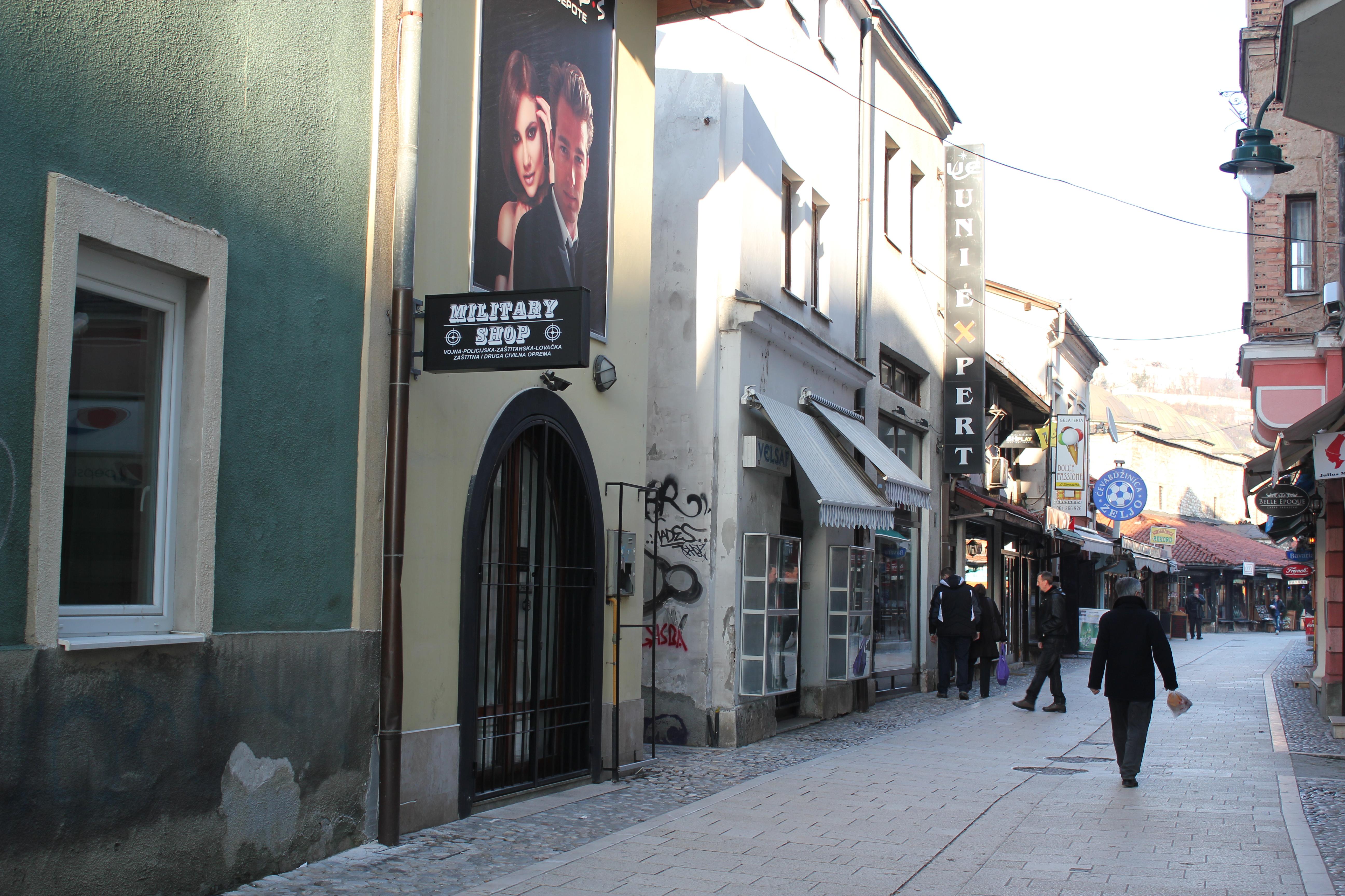 Streets; Sarajevo, Bosnia & Herzegovina; 2013