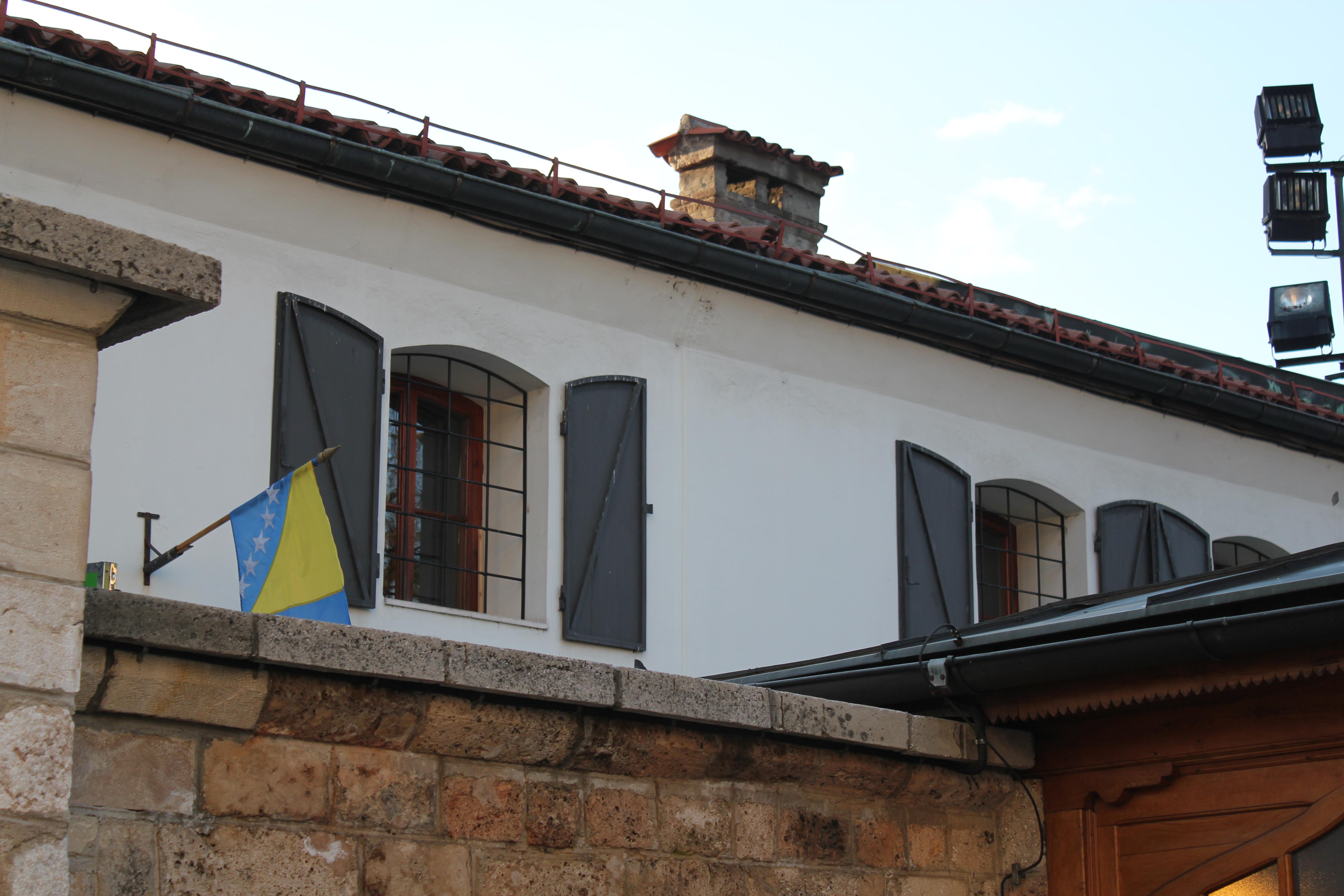Bosnia & Herzegovina Flag; Sarajevo, Bosnia & Herzegovina; 2013