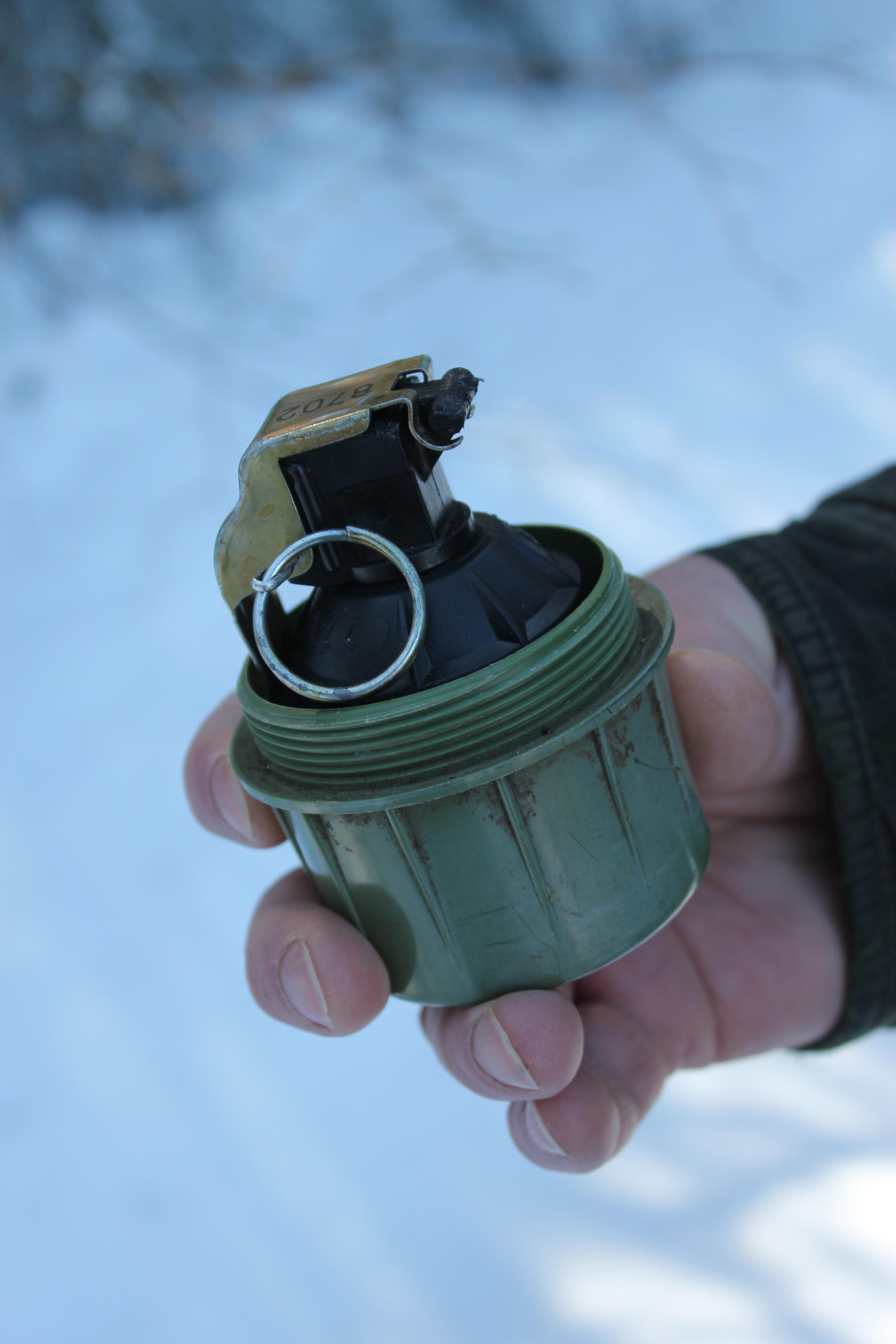 Plastic Hand Grenade; Sarajevo, Bosnia & Herzegovina; 2013