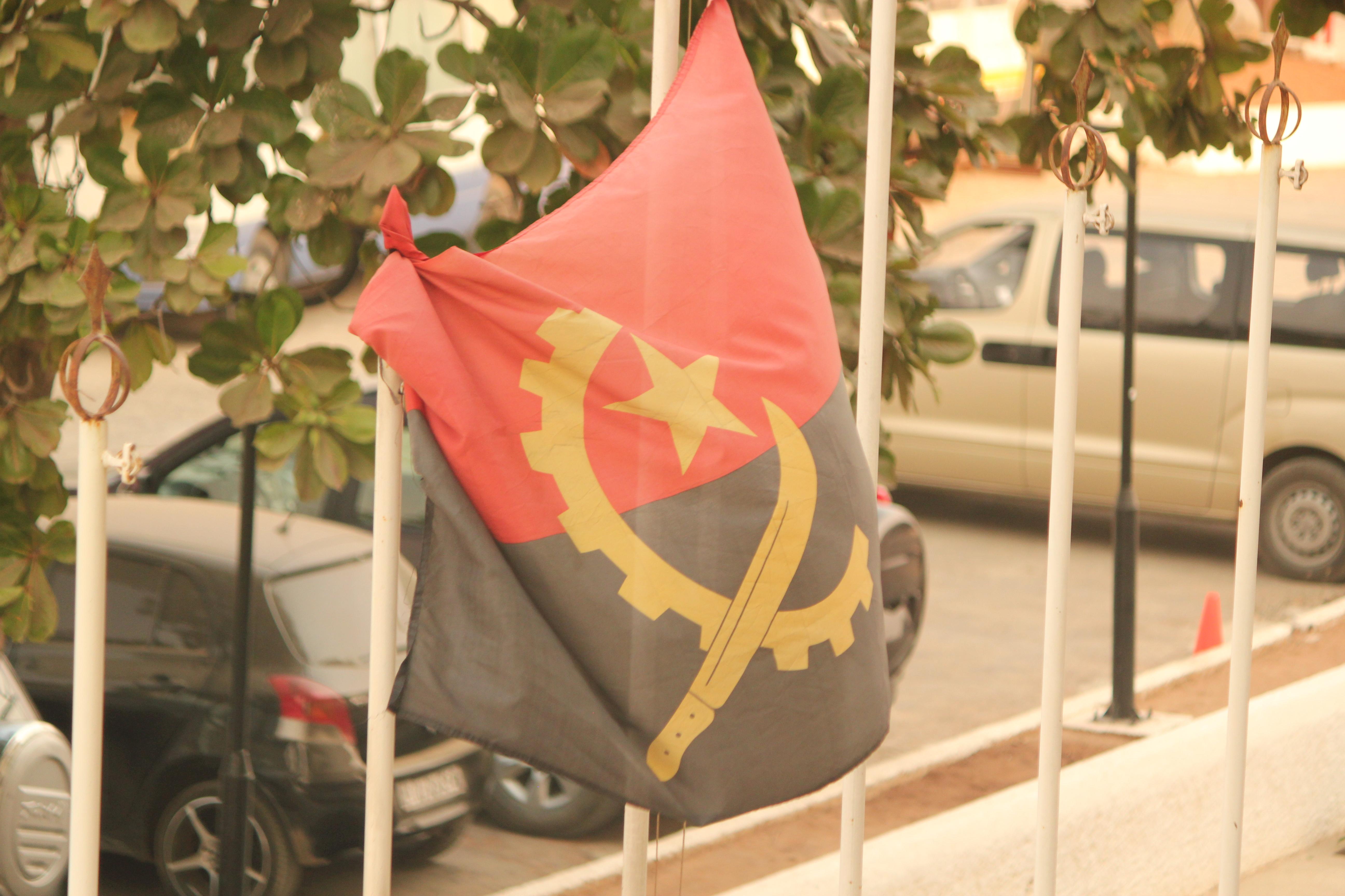 Angola Flag; Luanda, Angola; 2013