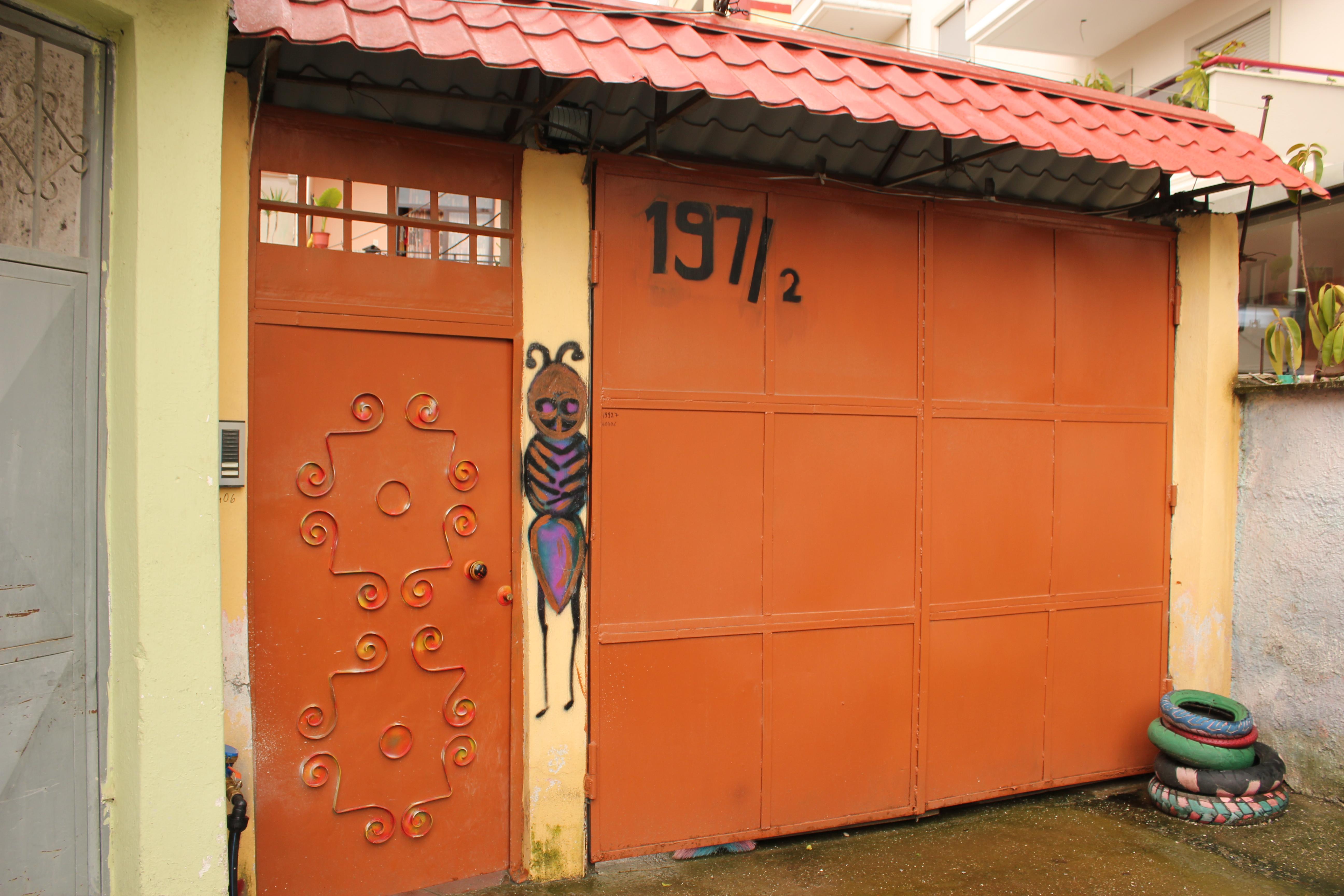 Hostel Entrance; Tirana, Albania; 2013