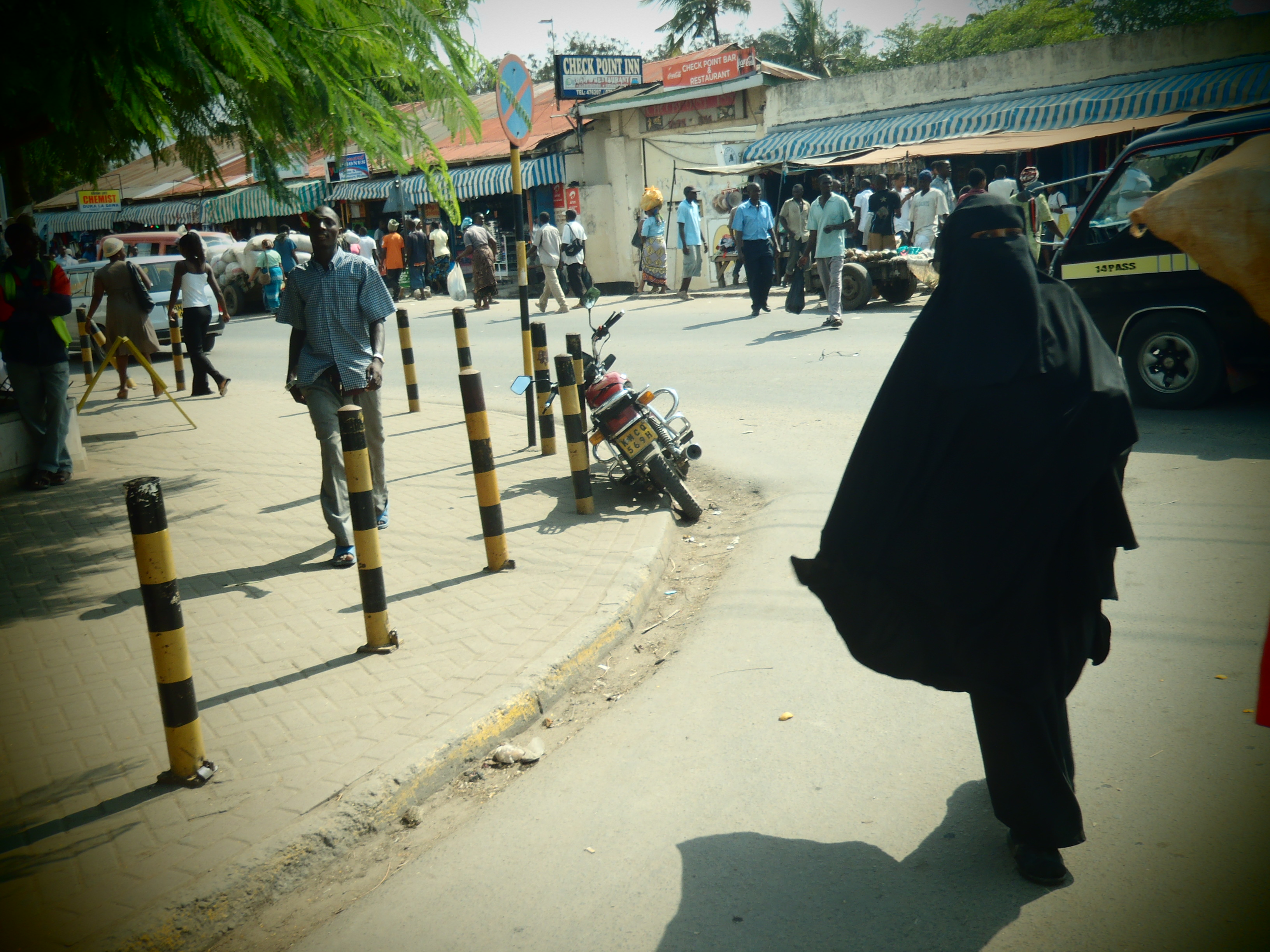 Busy Streets; Mombasa, Kenya; 2011