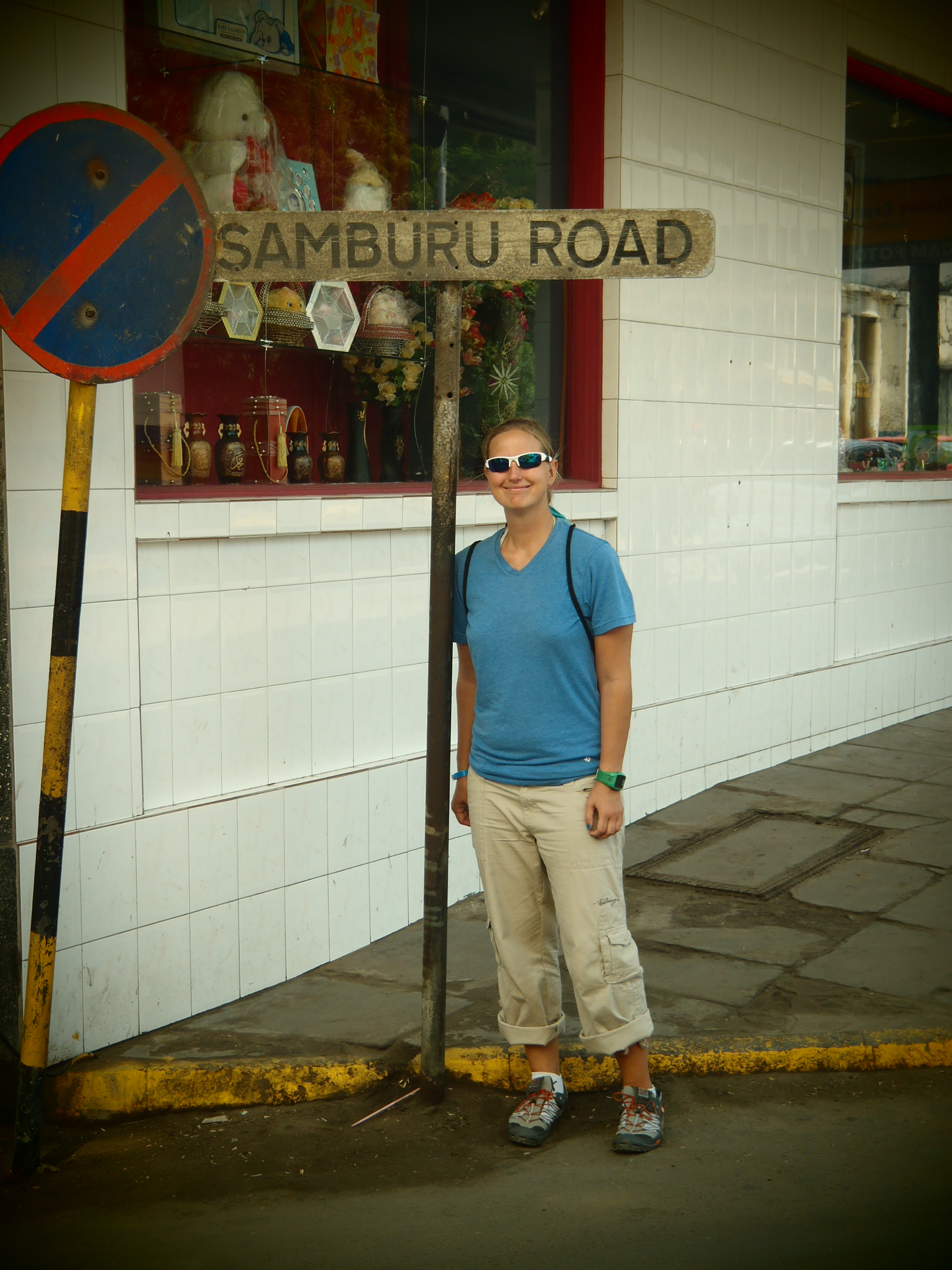 Cool Sign and Me; Mombasa, Kenya; 2011