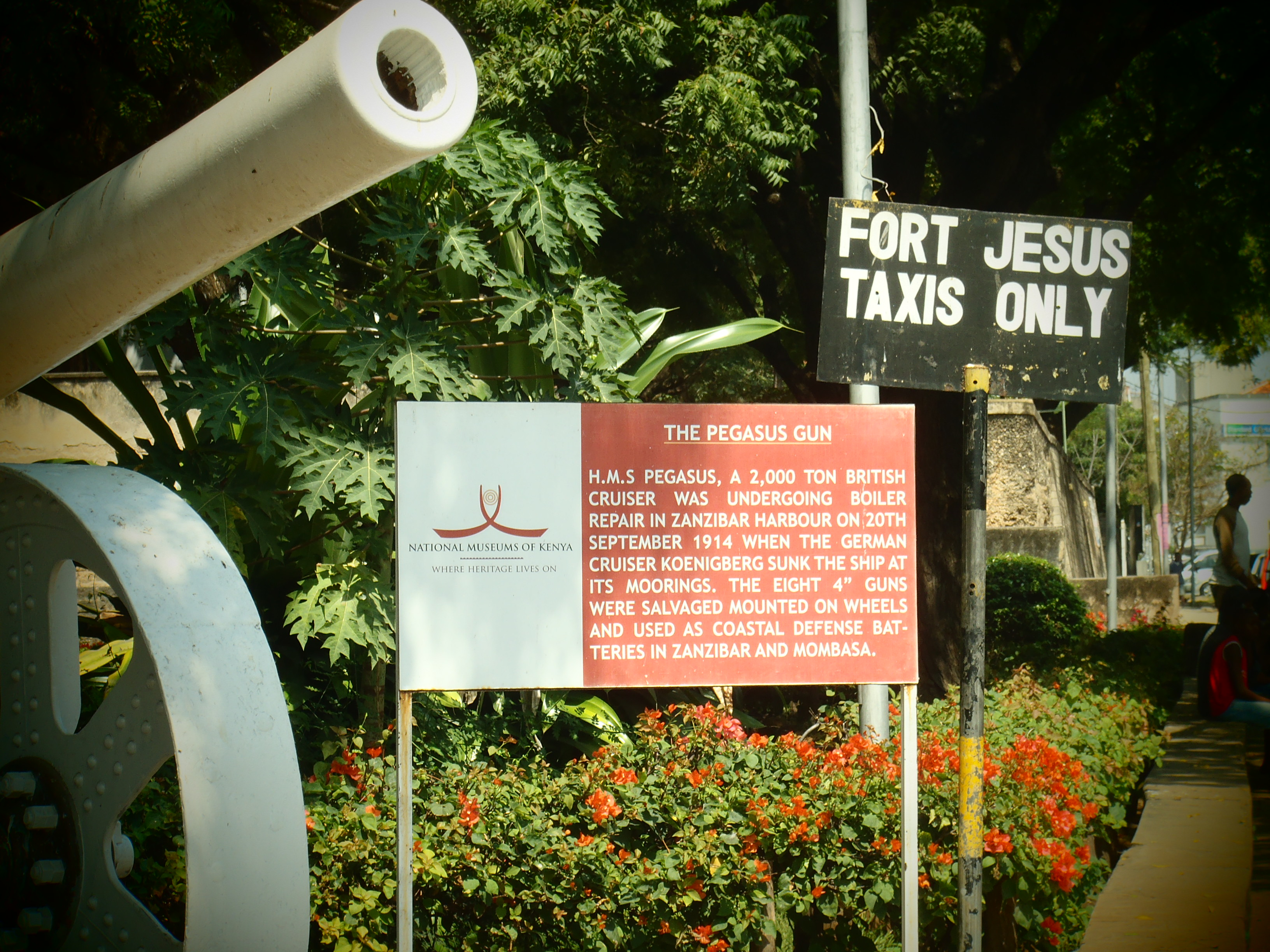 Fort Jesus Entrance; Mombasa, Kenya; 2011