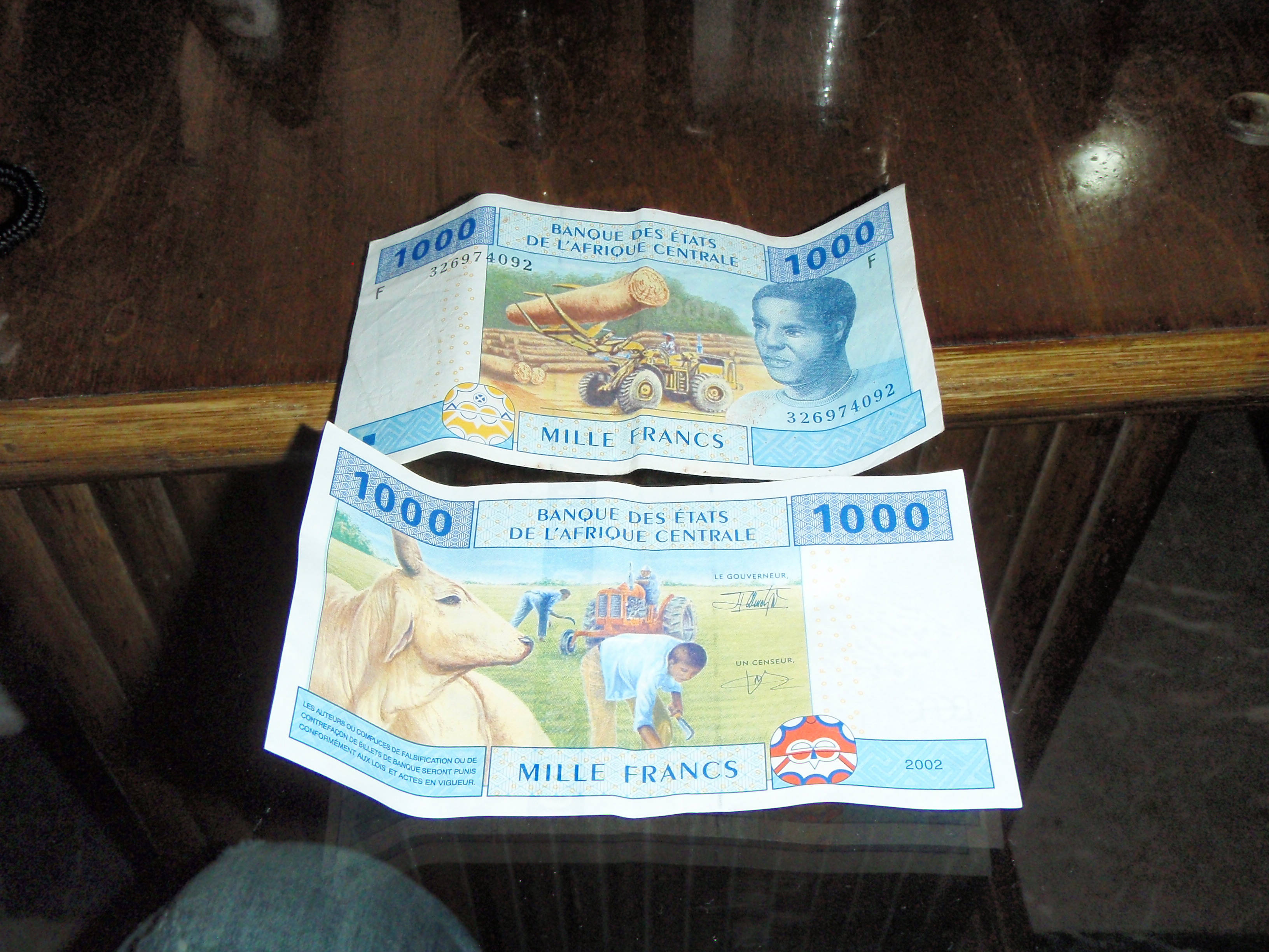 Local Currency; Malabo, Equatorial Guinea; 2010