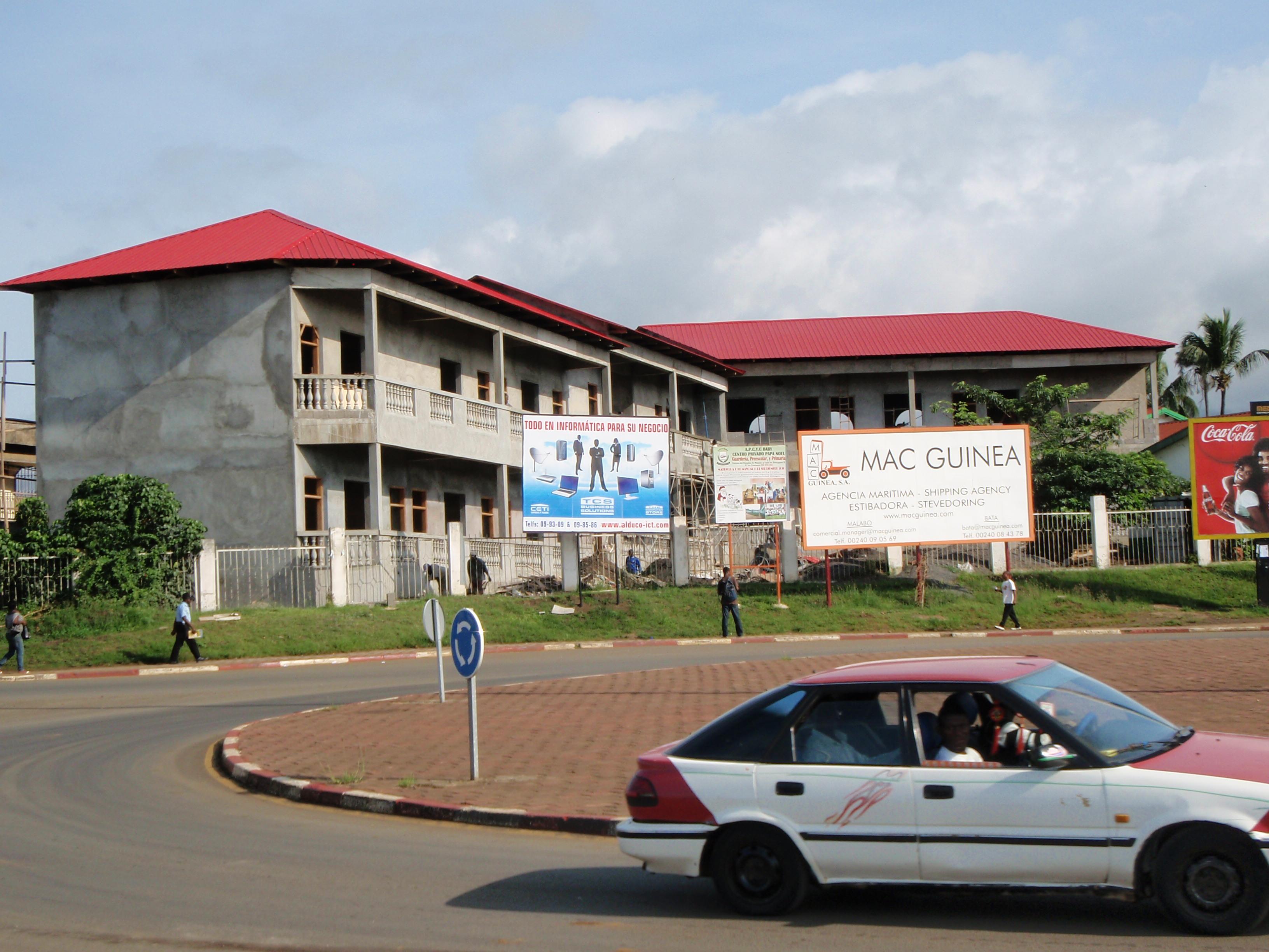 Roundabout; Malabo, Equatorial Guinea; 2010