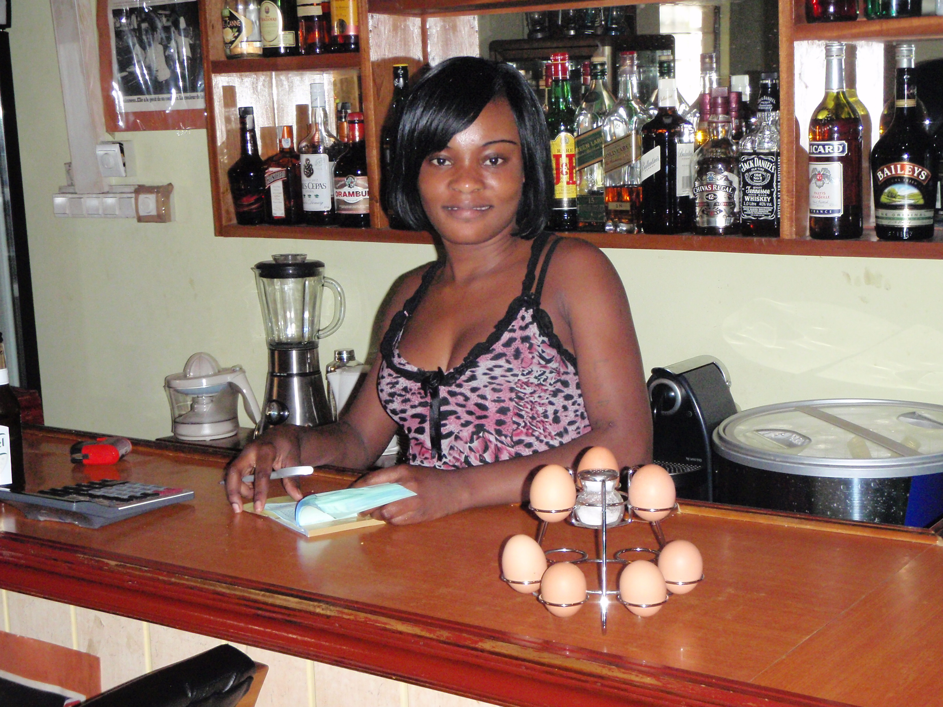 Local Bartender; Malabo, Equatorial Guinea; 2010