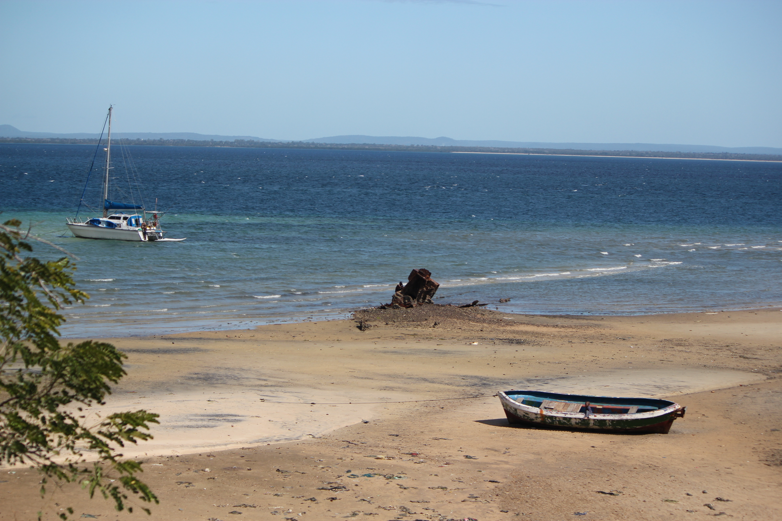 Boy in Boat; Pemba, Mozambique; 2011