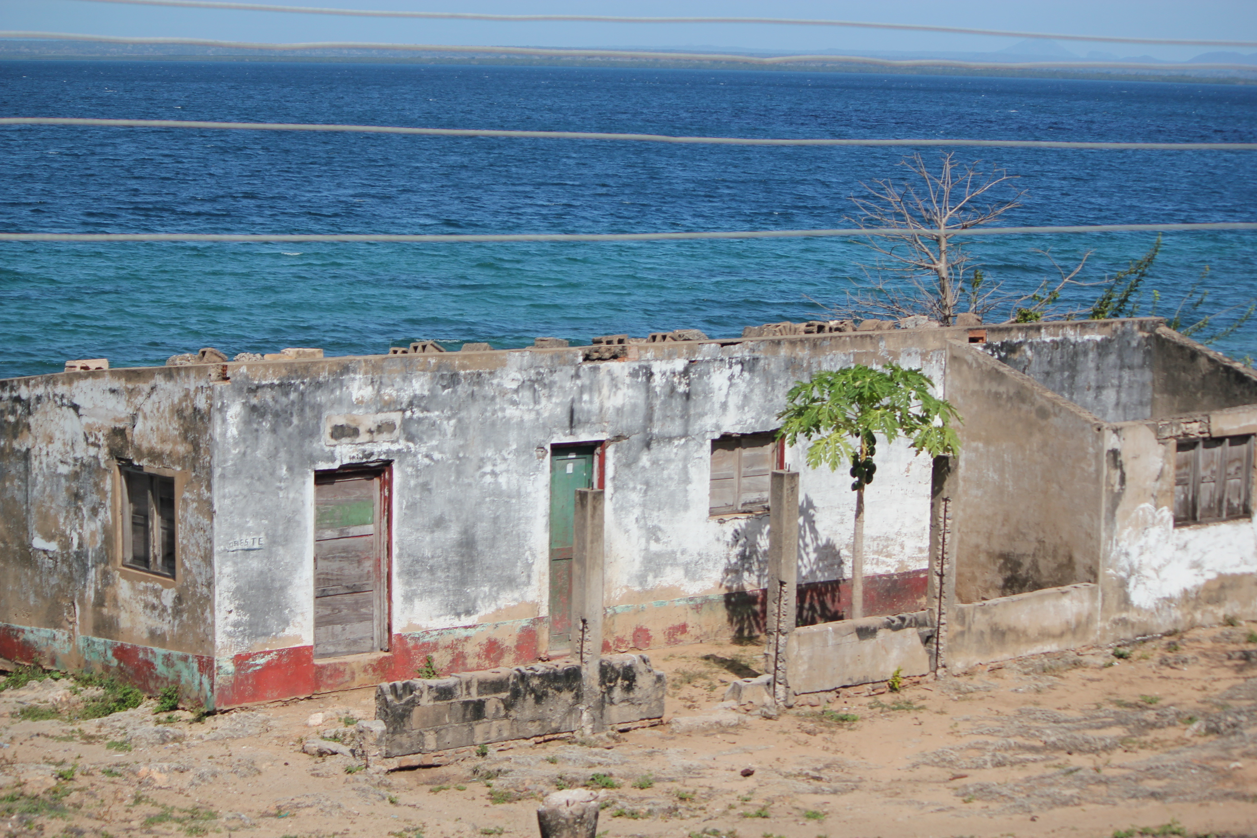 Rundown Building; Pemba, Mozambique; 2011