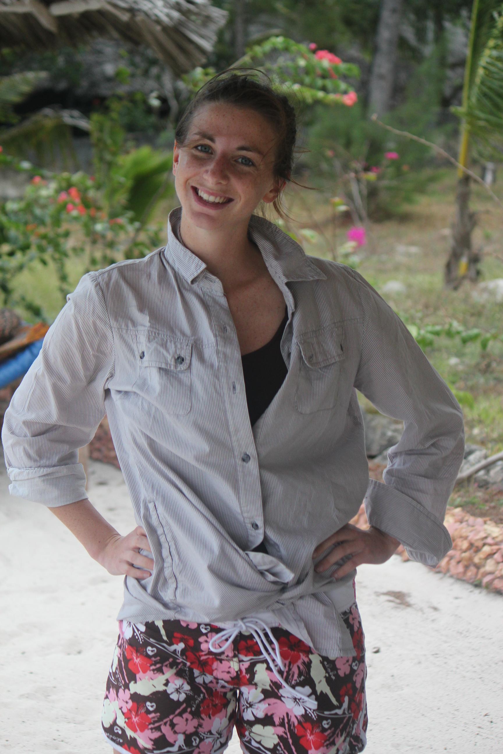 Helen; Pongwe Beach Resort, Zanzibar, Tanzania; 2011