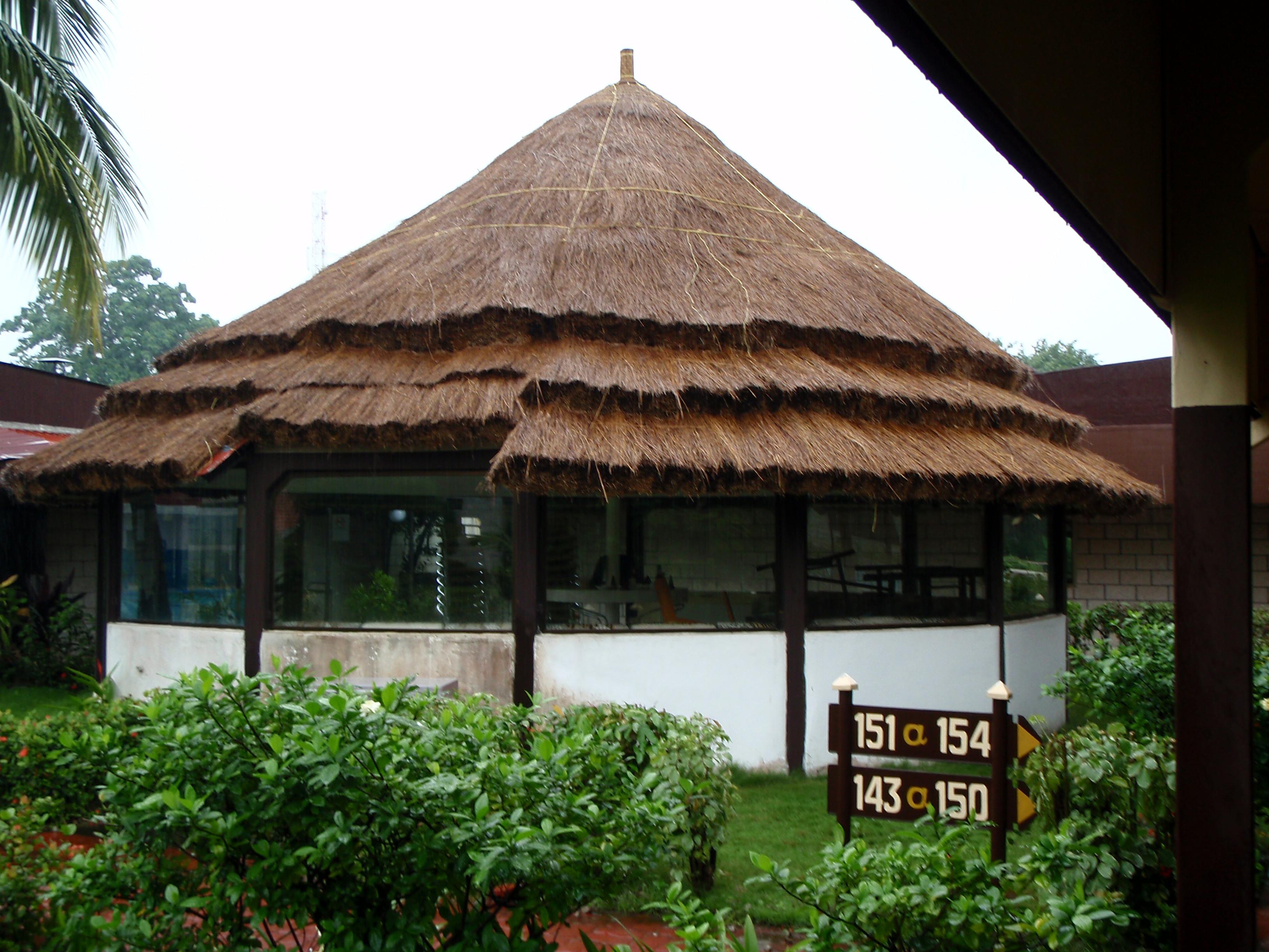 Small Hut; Conakry, Guinea; 2010