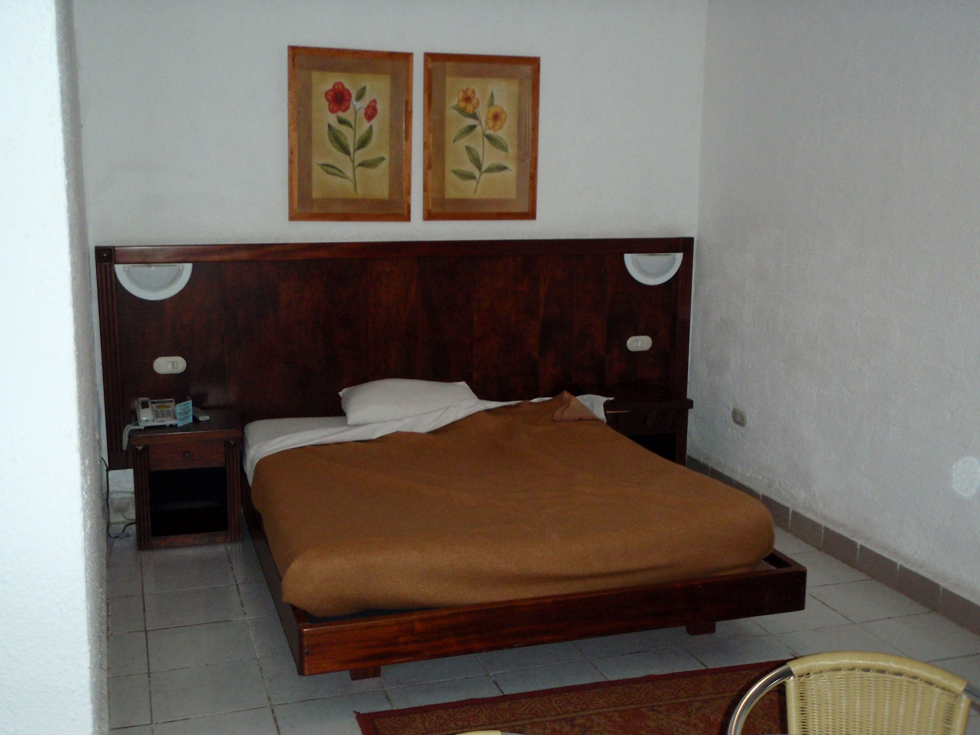 Hotel Room; Conakry, Guinea; 2010