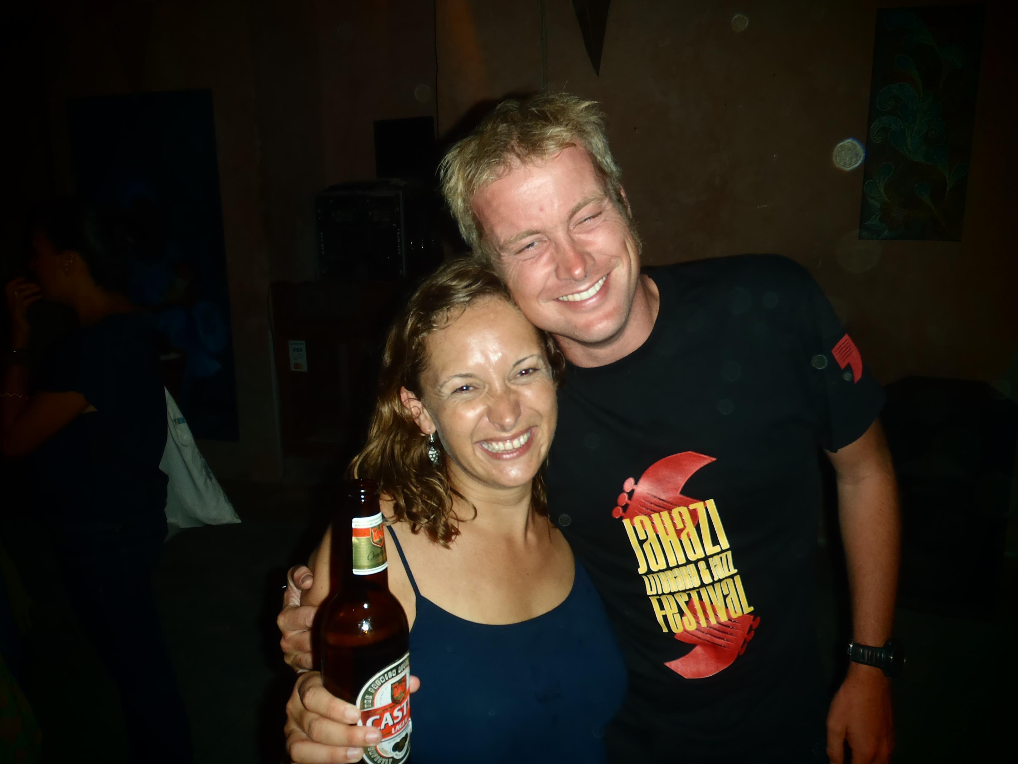 Nell & Rich; Stone Town, Zanzibar, Tanzania; 2011