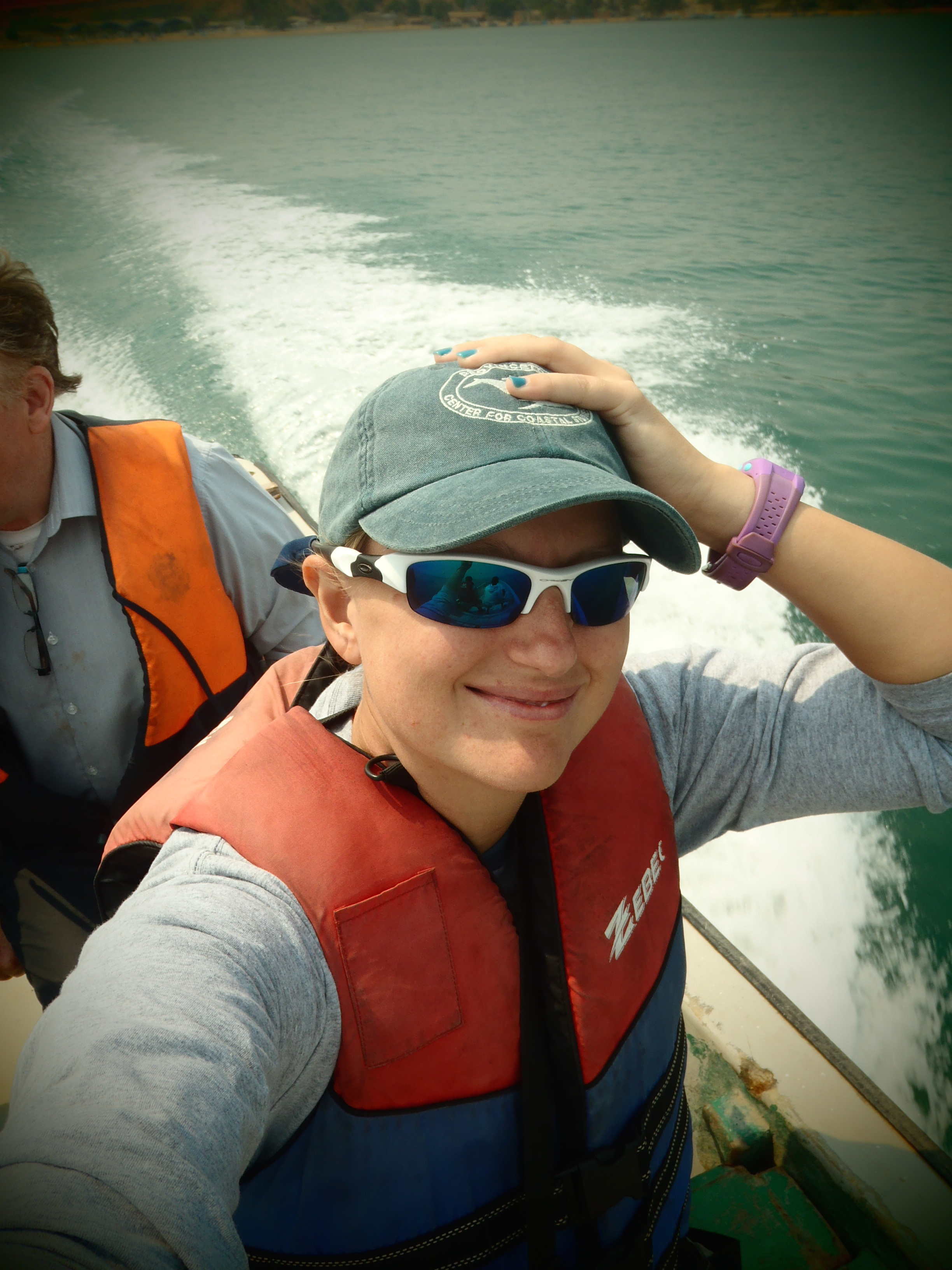 Selfie on a Boat; Luanda, Angola; 2013