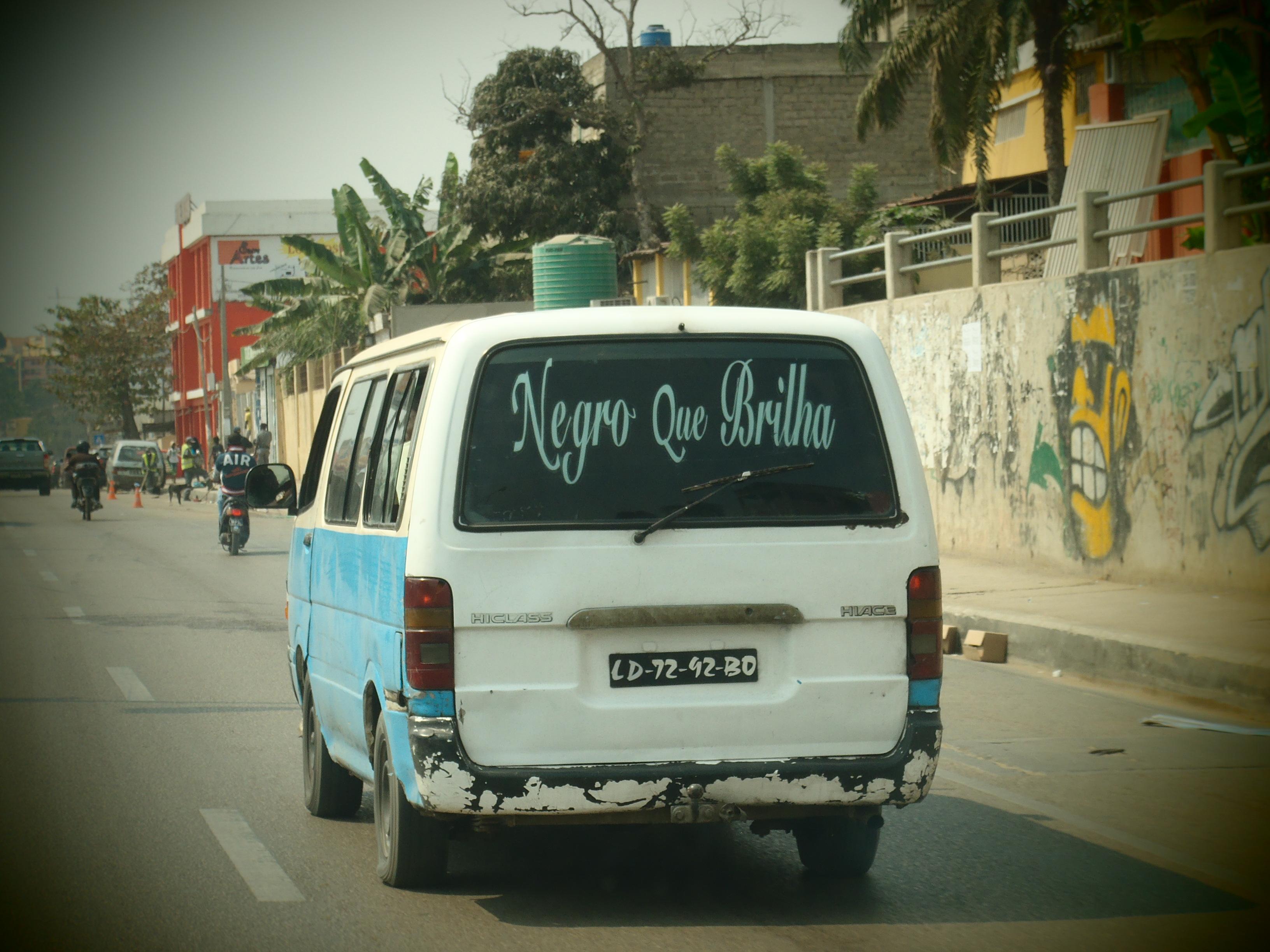Busy Streets; Luanda, Angola; 2012