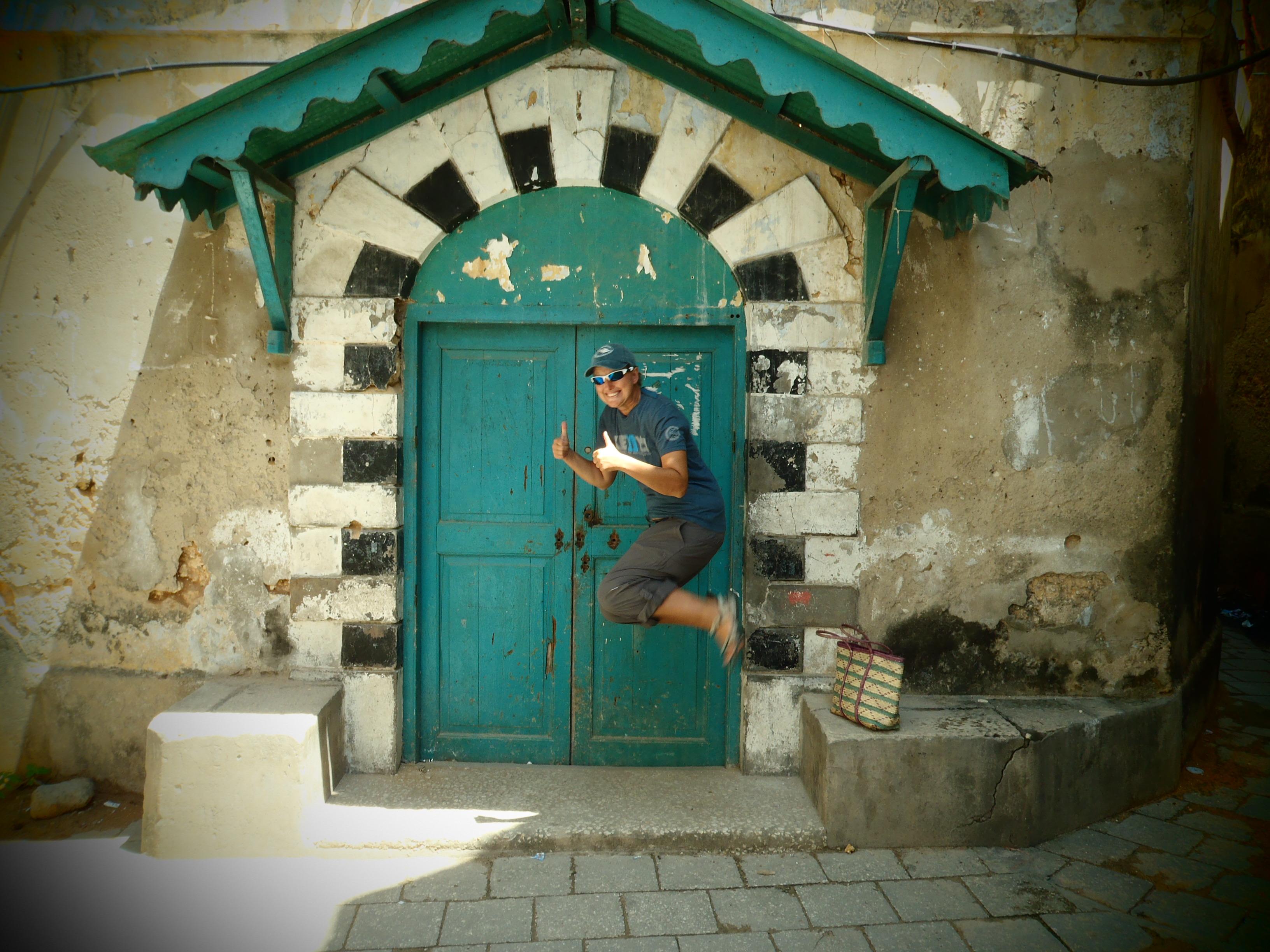 Signature Jumpin' Photograph; Stone Town, Zanzibar, Tanzania; 2012