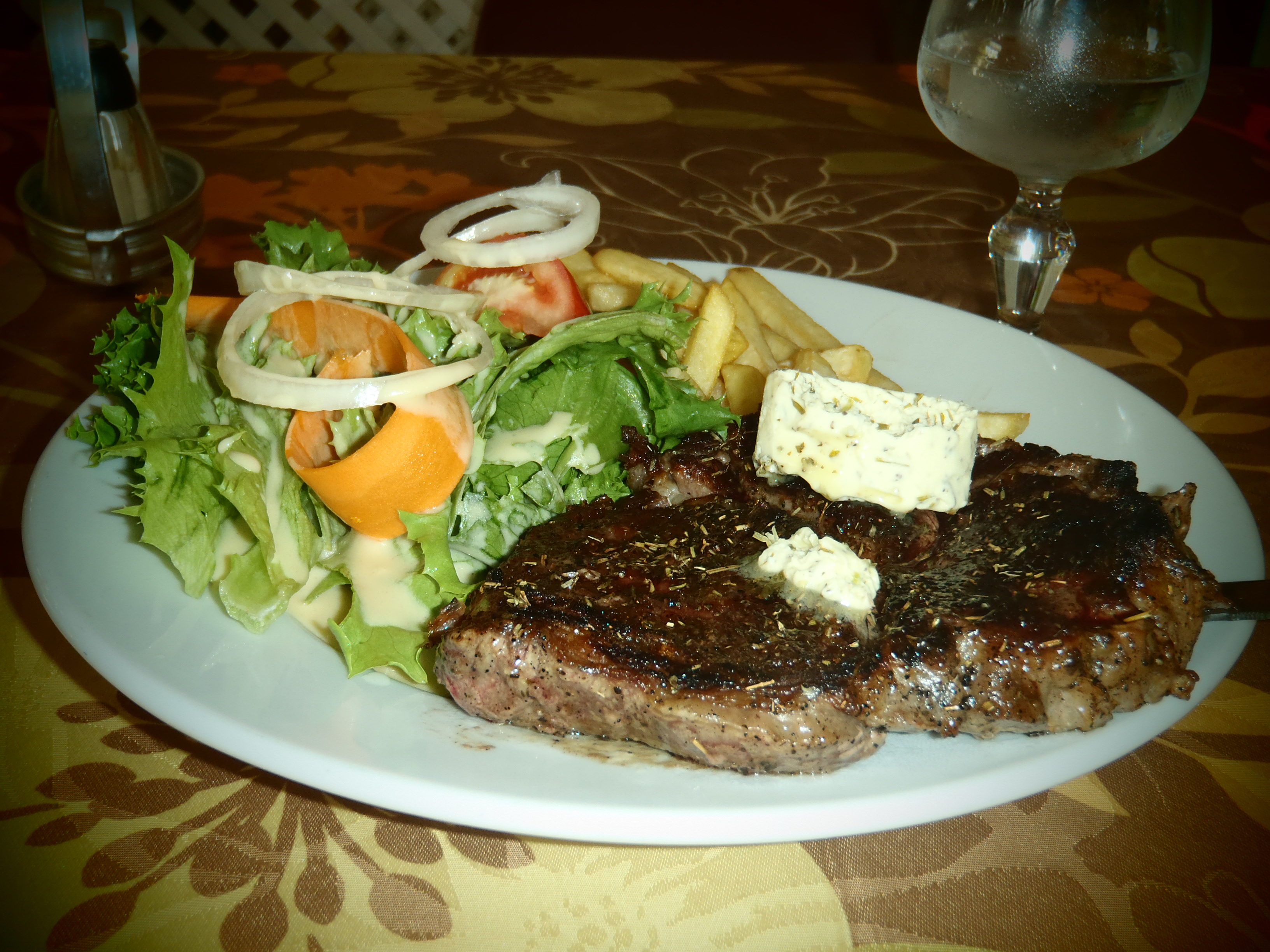 Steak Dinner; Cayenne, French Guiana; 2012