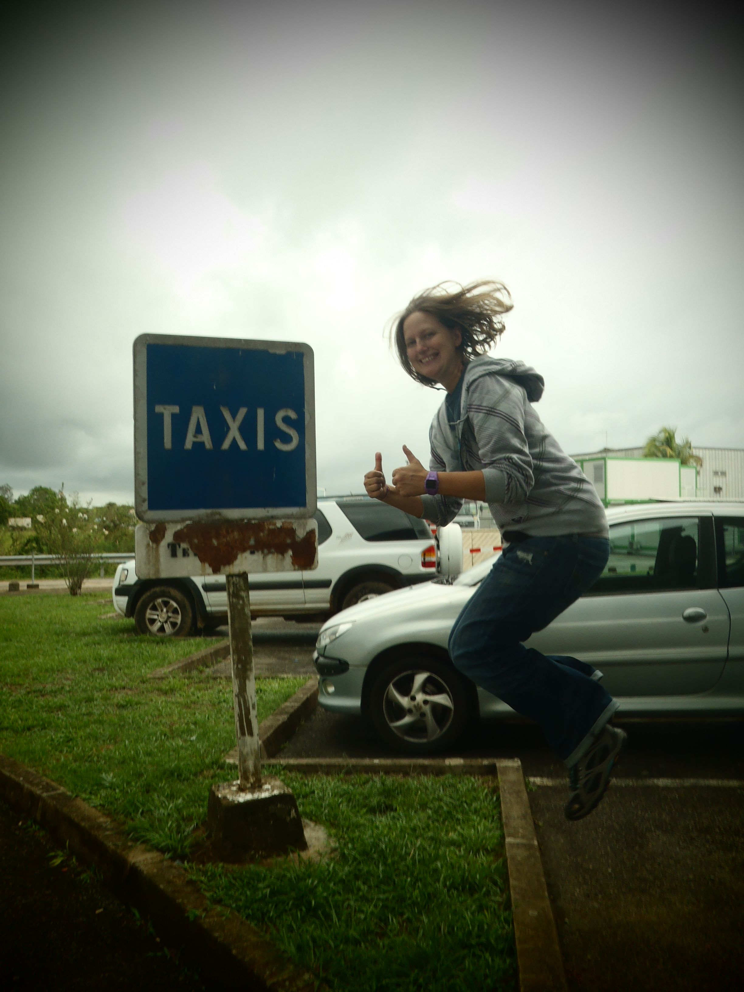 Signature Jumpin' Photograph; Cayenne, French Guiana; 2012