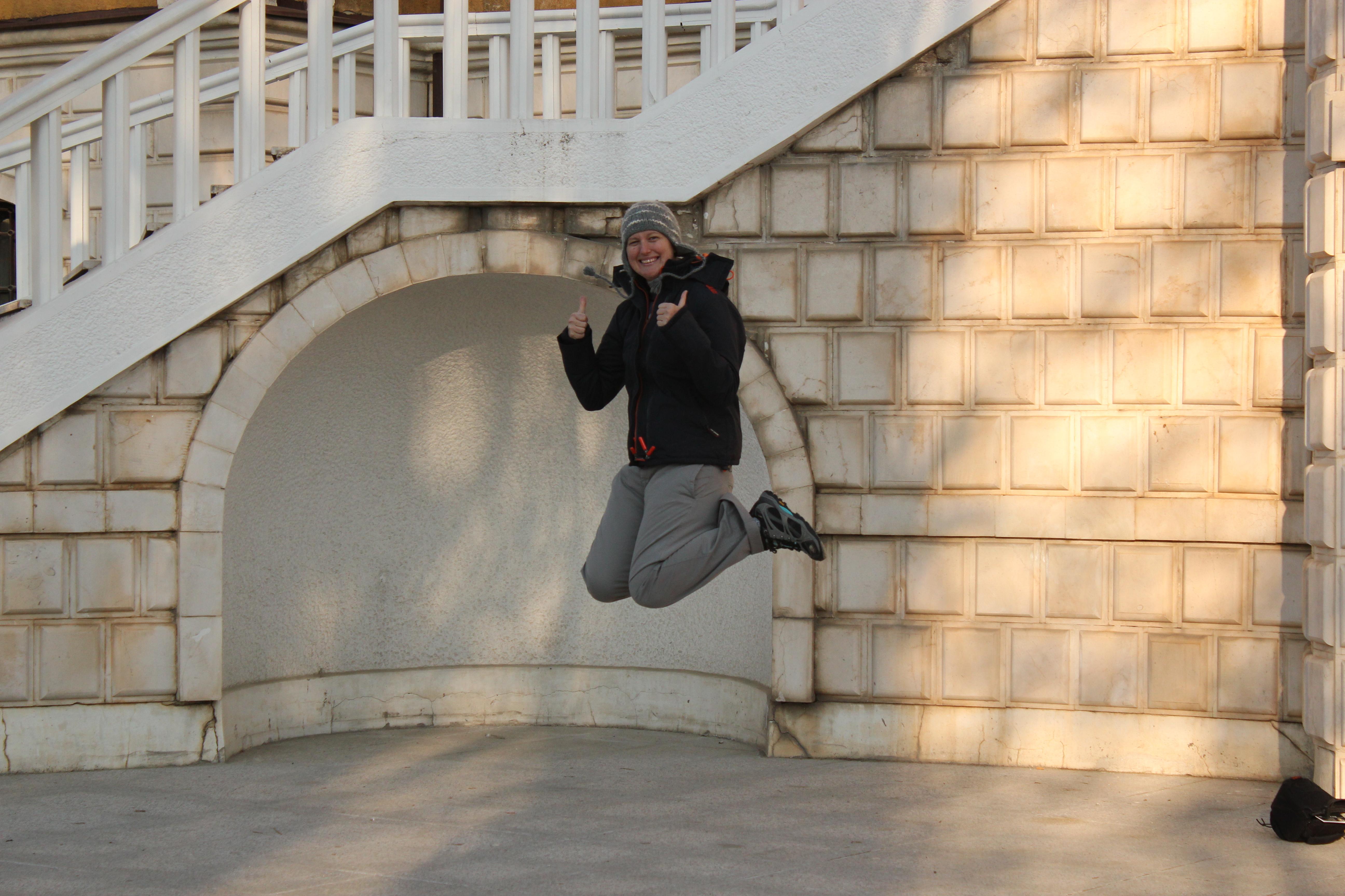 Signature Jumpin' Photograph; Pristina, Kosovo; 2013