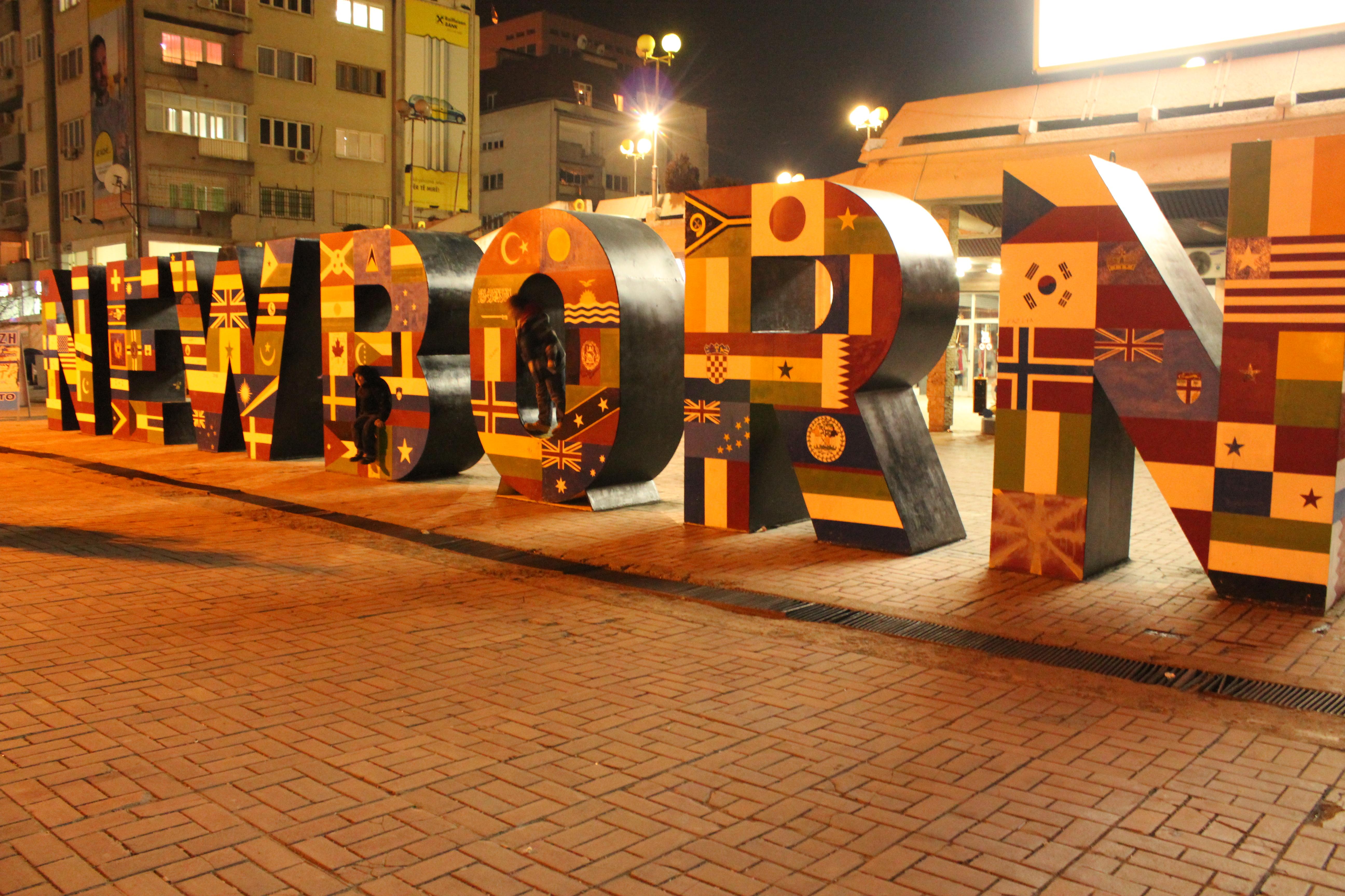 Newborn of Pristina; Pristina, Kosovo; 2013