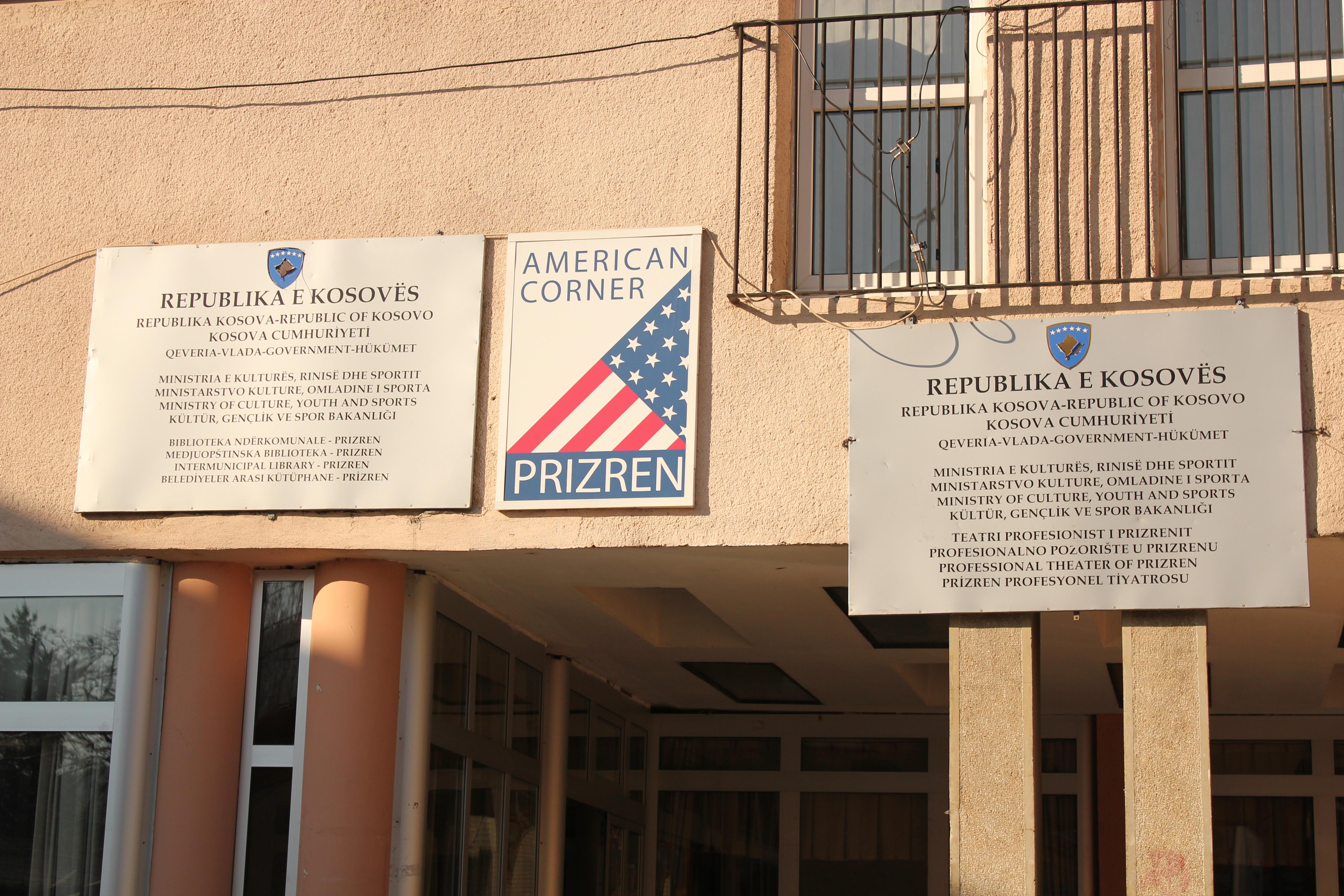 American Welcome; Prizren, Kosovo; 2013