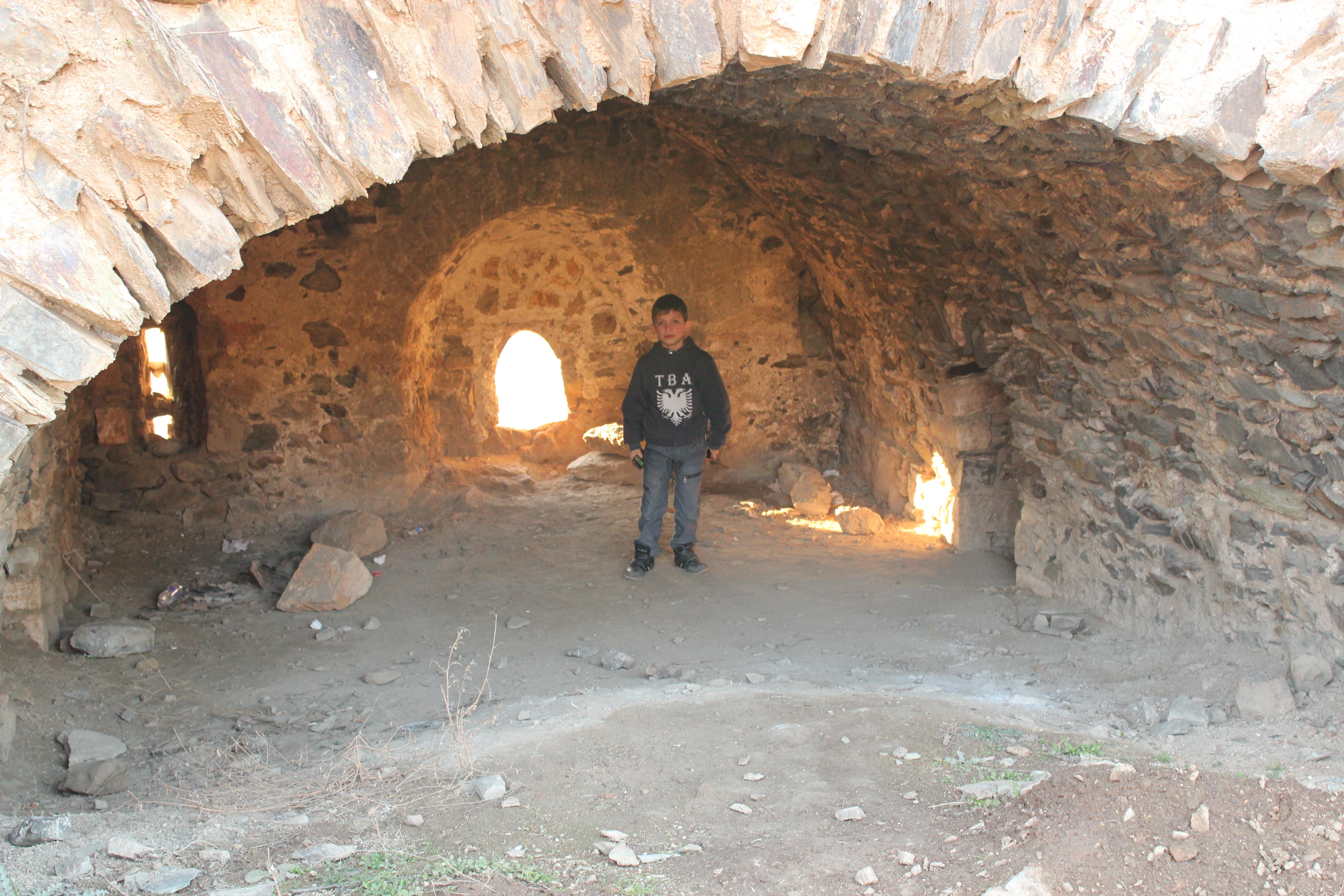 Boy in Cave; Prizren, Kosovo; 2013