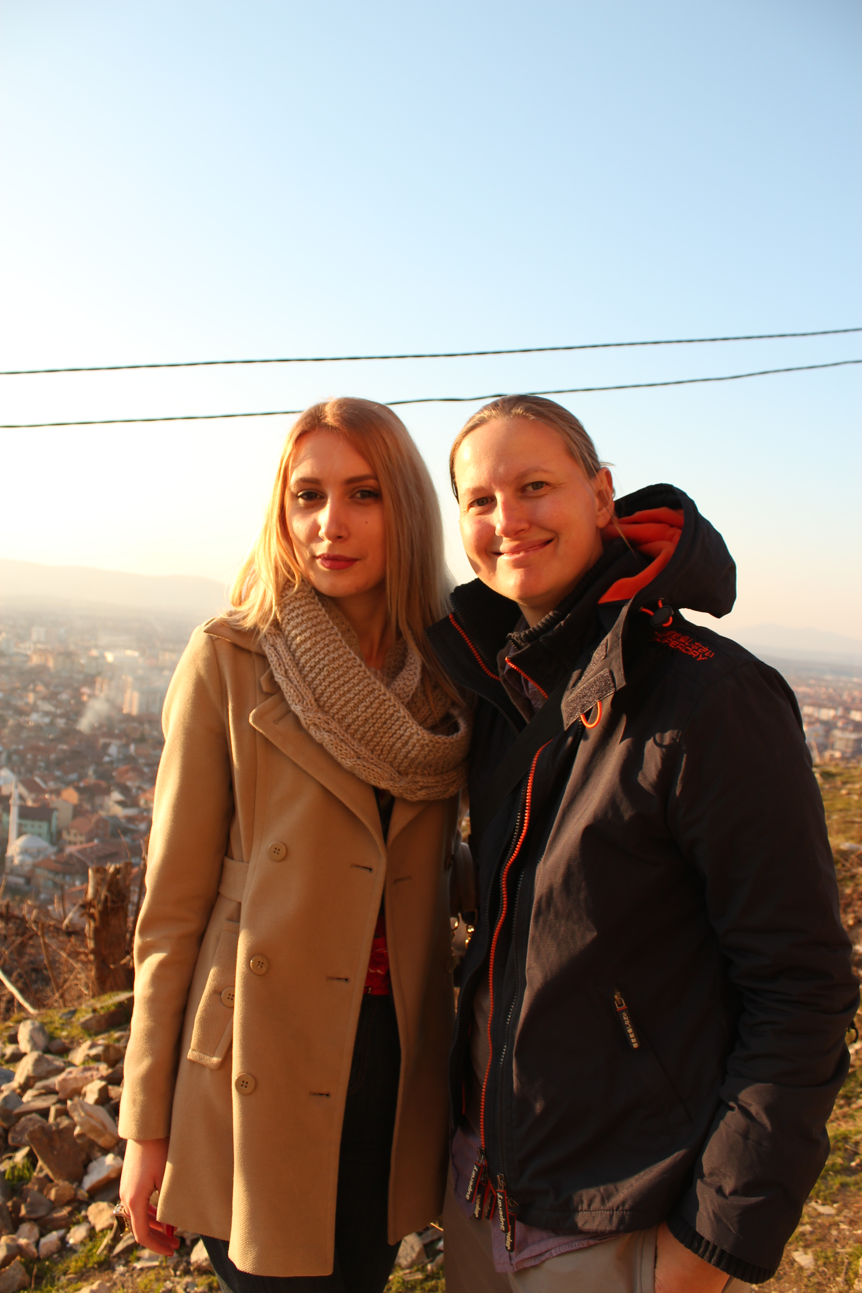 Elona & I; Prizren, Kosovo; 2013