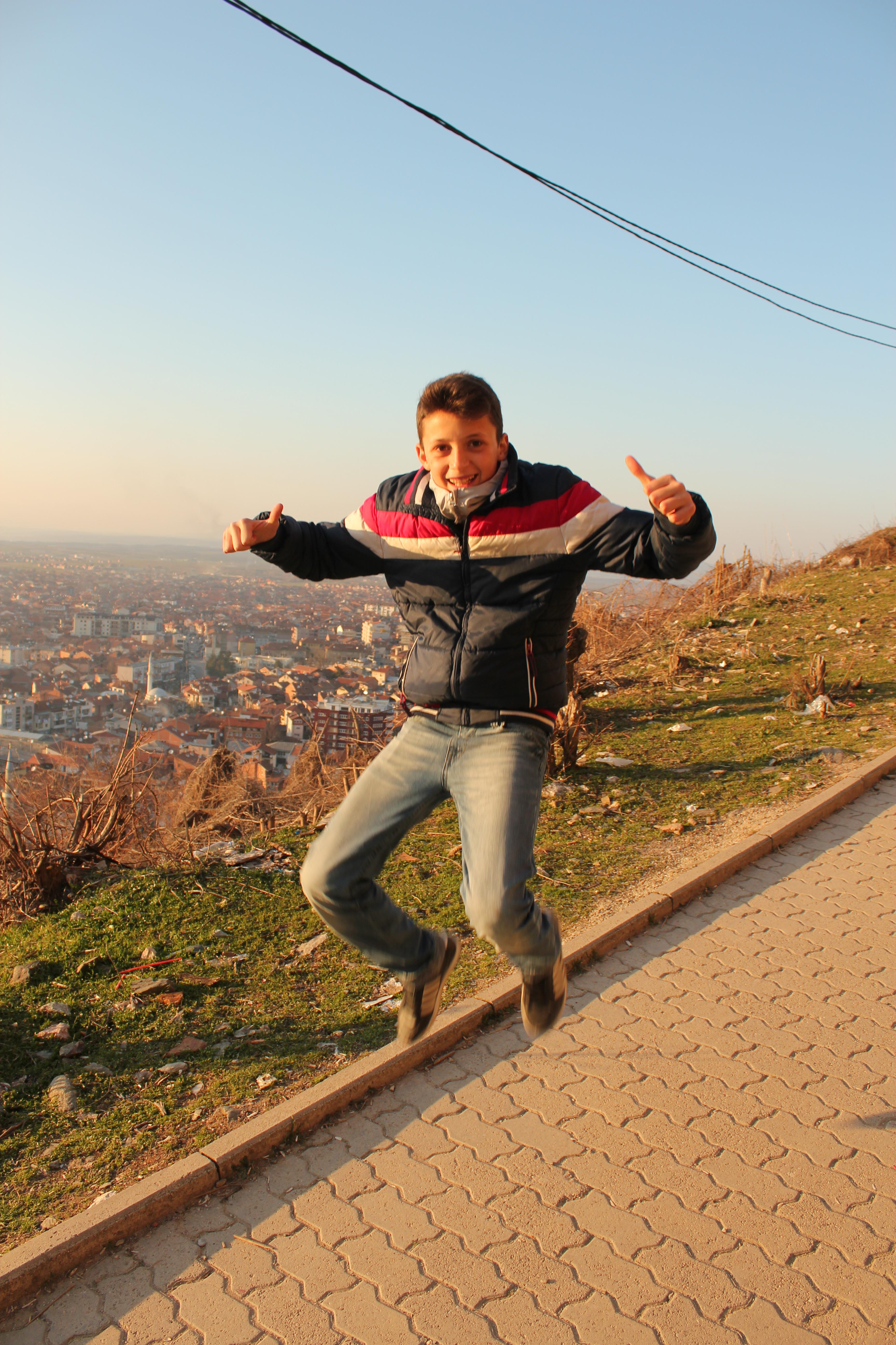 Eddi Signature Jumpin' Photograph; Prizren, Kosovo; 2013
