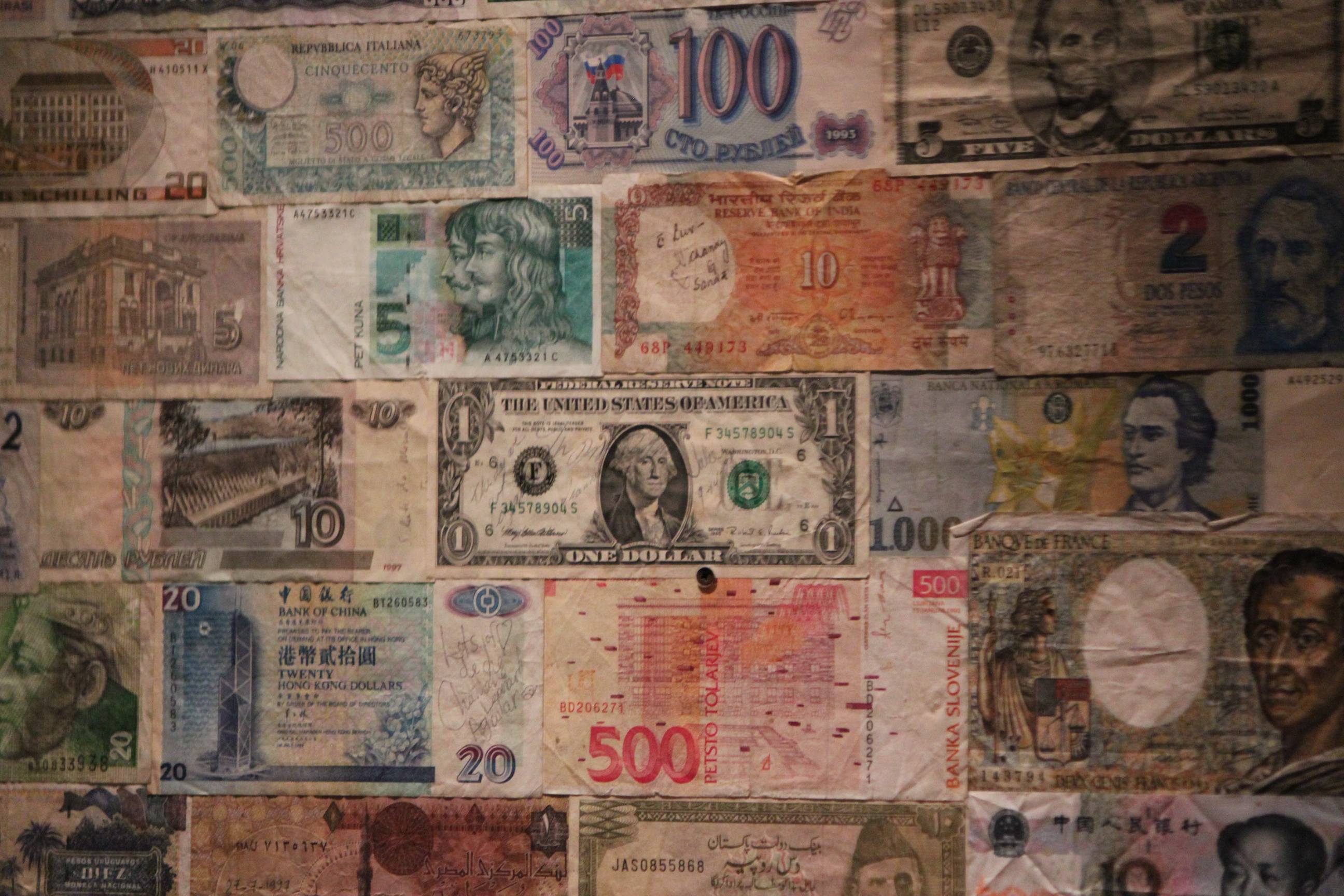 International Currency; Venice, Italy; 2011