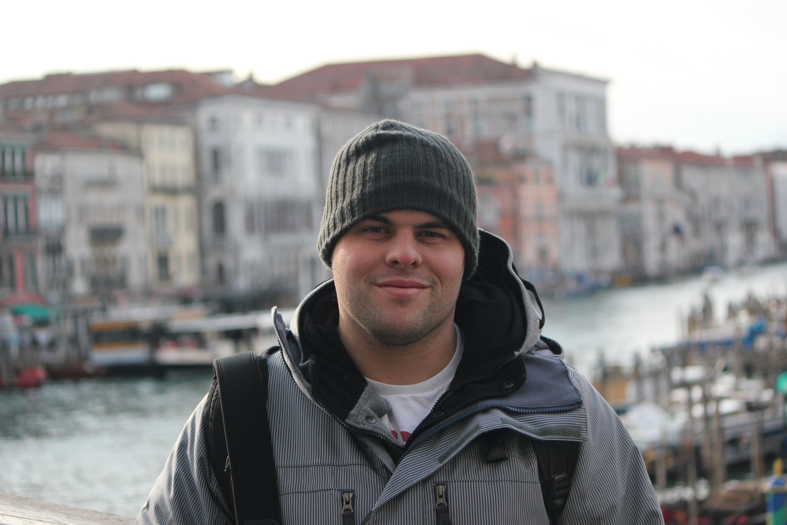 Good Mate, Paul with City; Venice, Italy; 2011