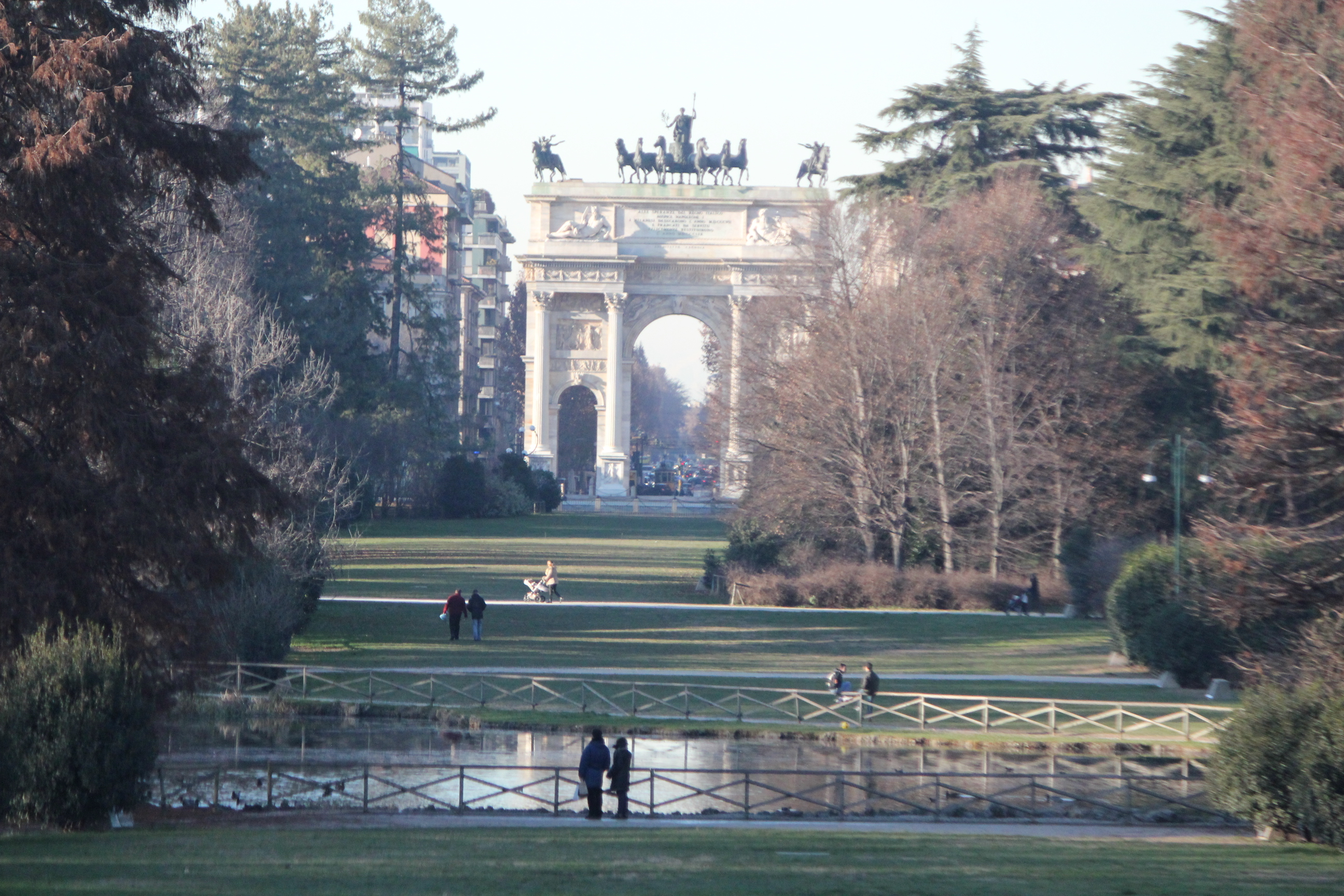 Beautiful City; Milan, Italy; 2011