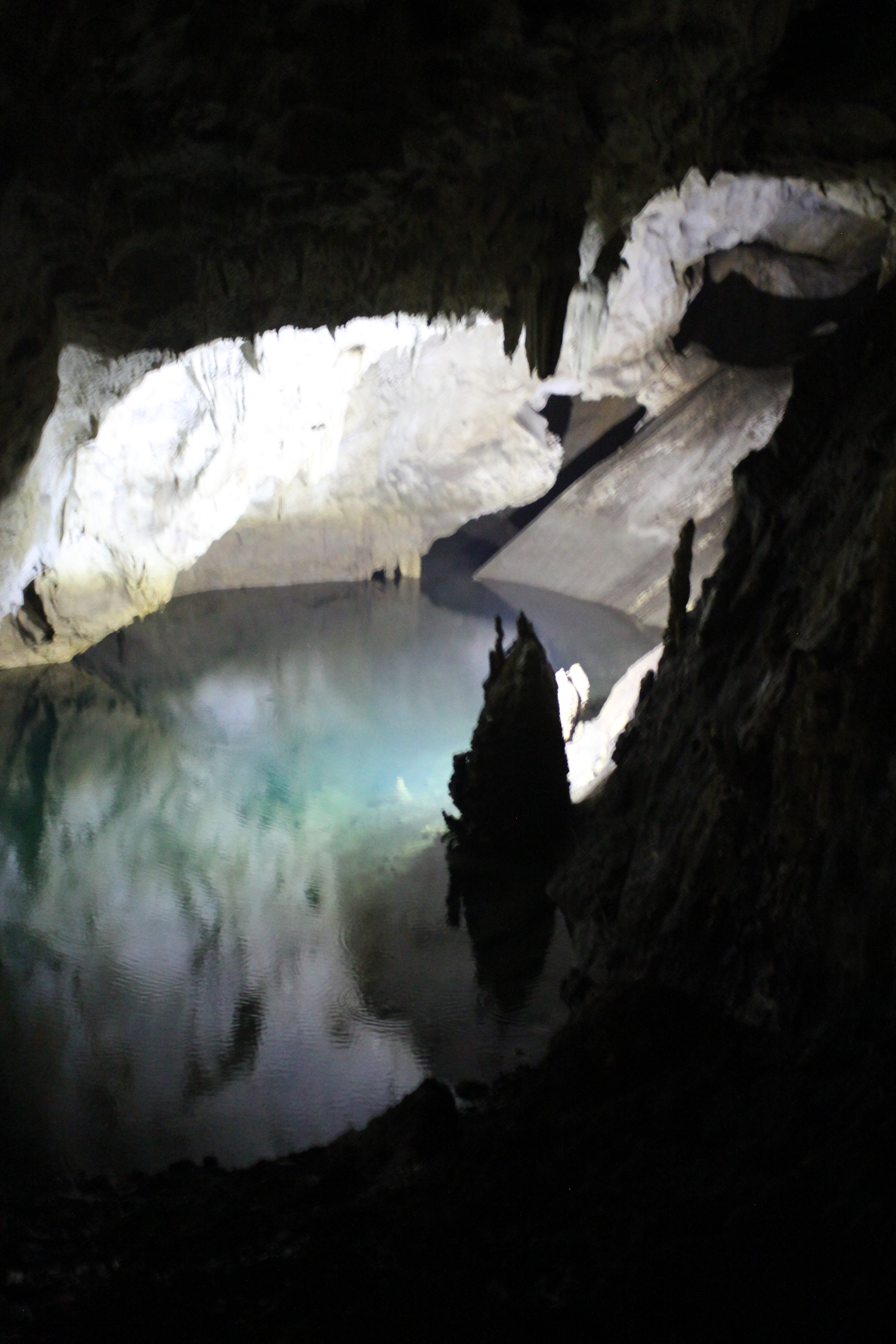 Lake in the Cave; Matka, Republic of Macedonia; 2013