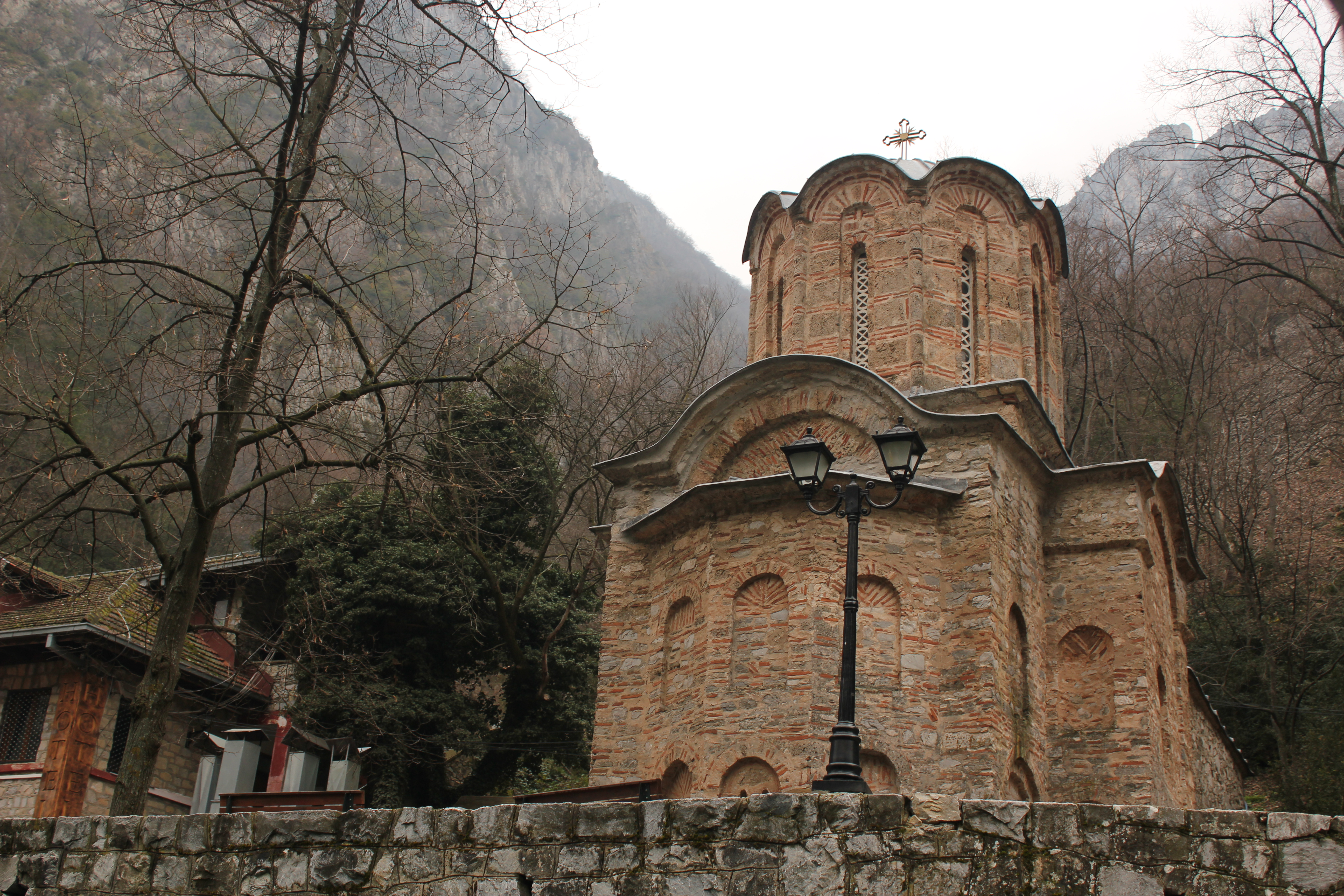 Church St. Andrew; Matka, Republic of Macedonia; 2013