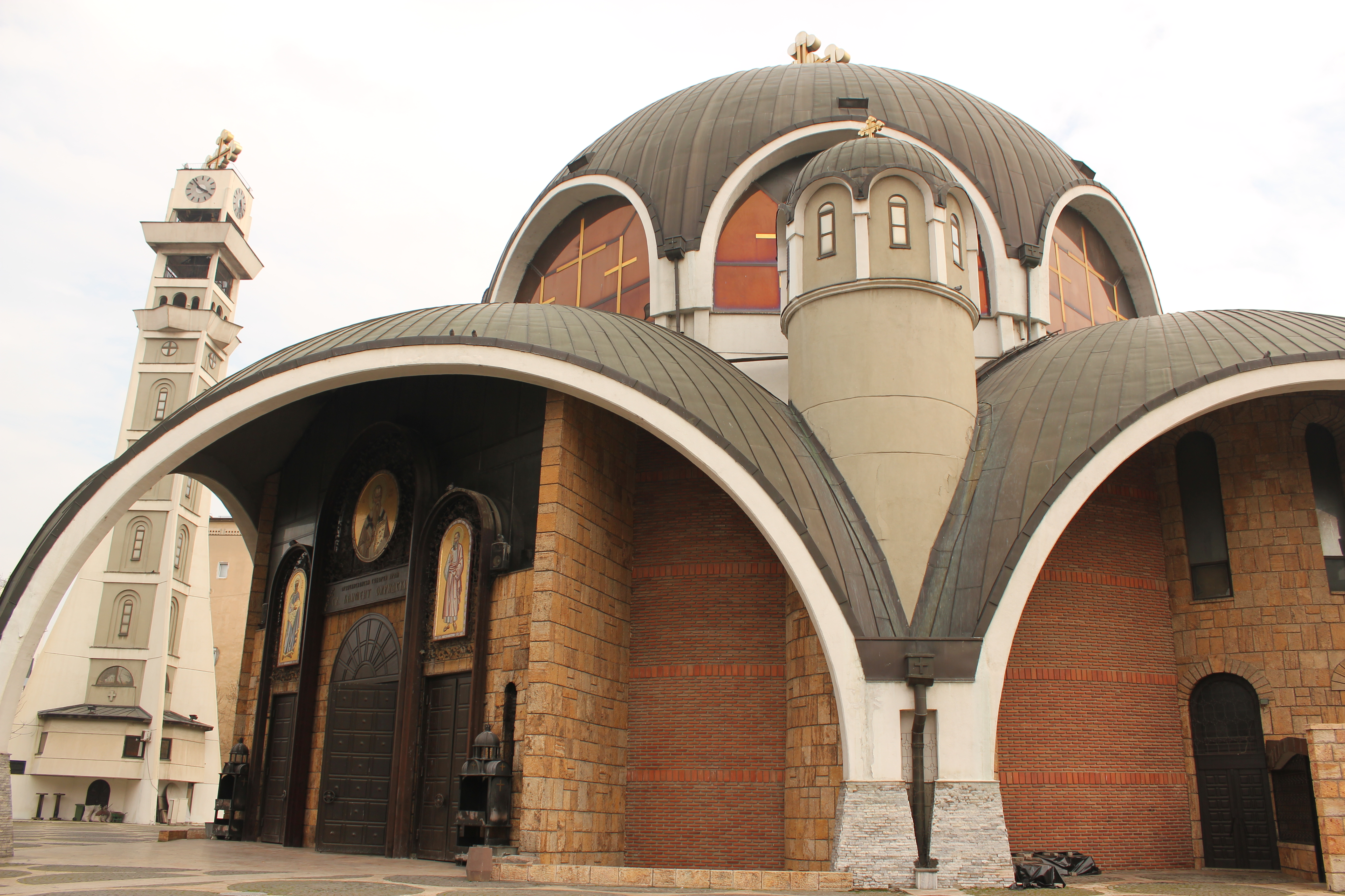 Creative View of Church; Skopje, Republic of Macedonia; 2013