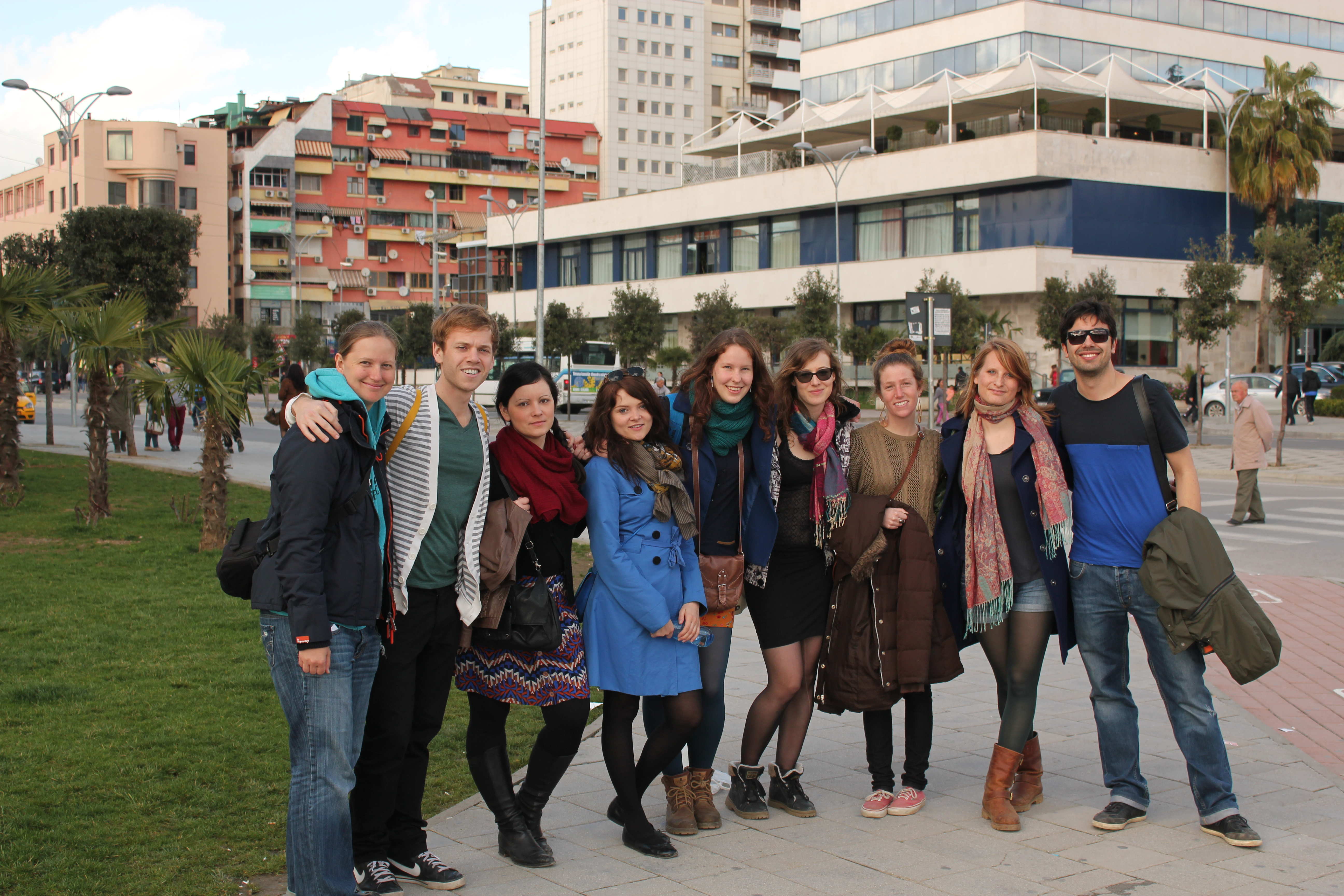 Group Shot (Take 2); Tirana, Albania; 2013