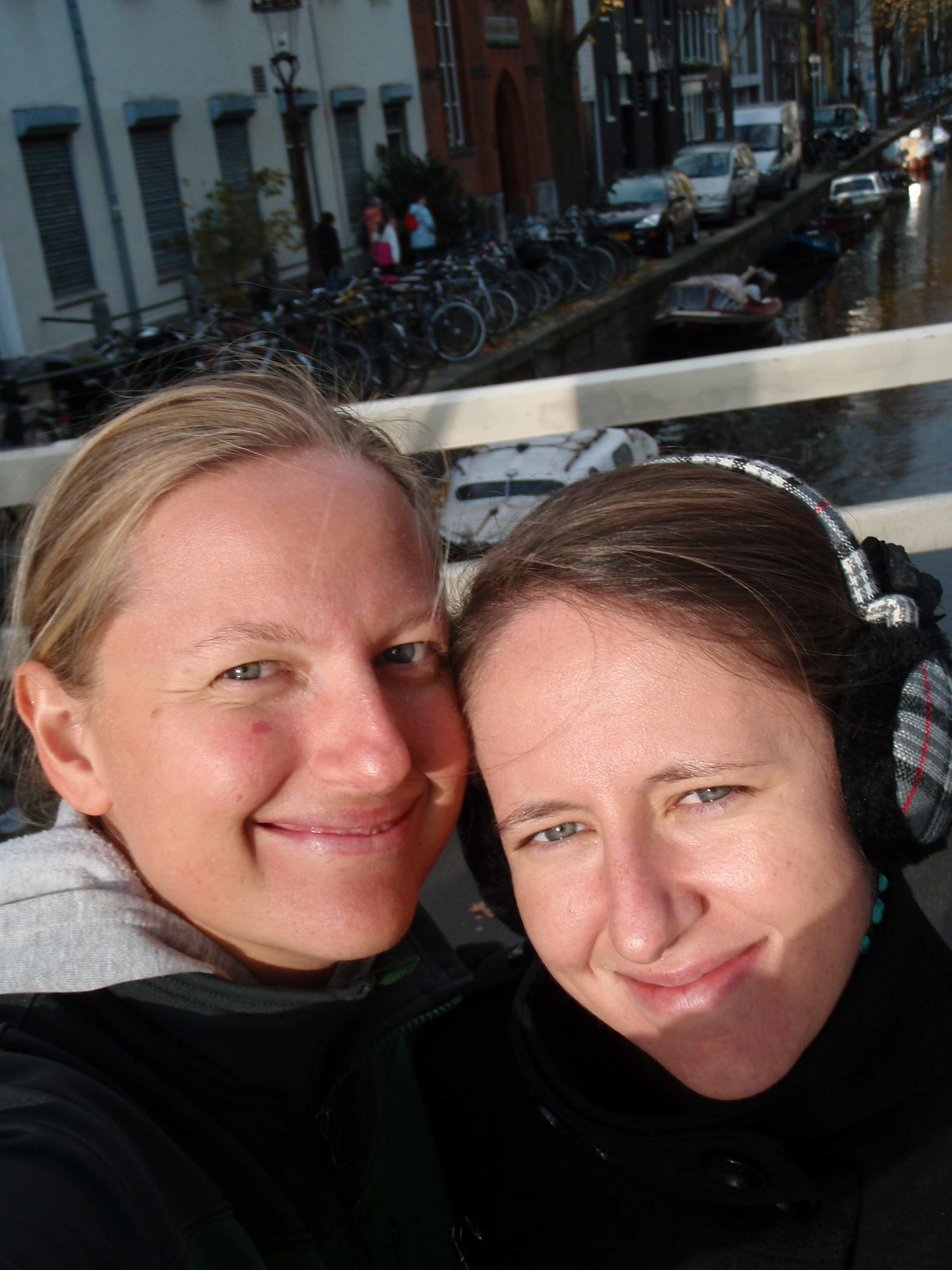 Polish Best Mate, Beata and I; Amsterdam, Netherlands; 2010