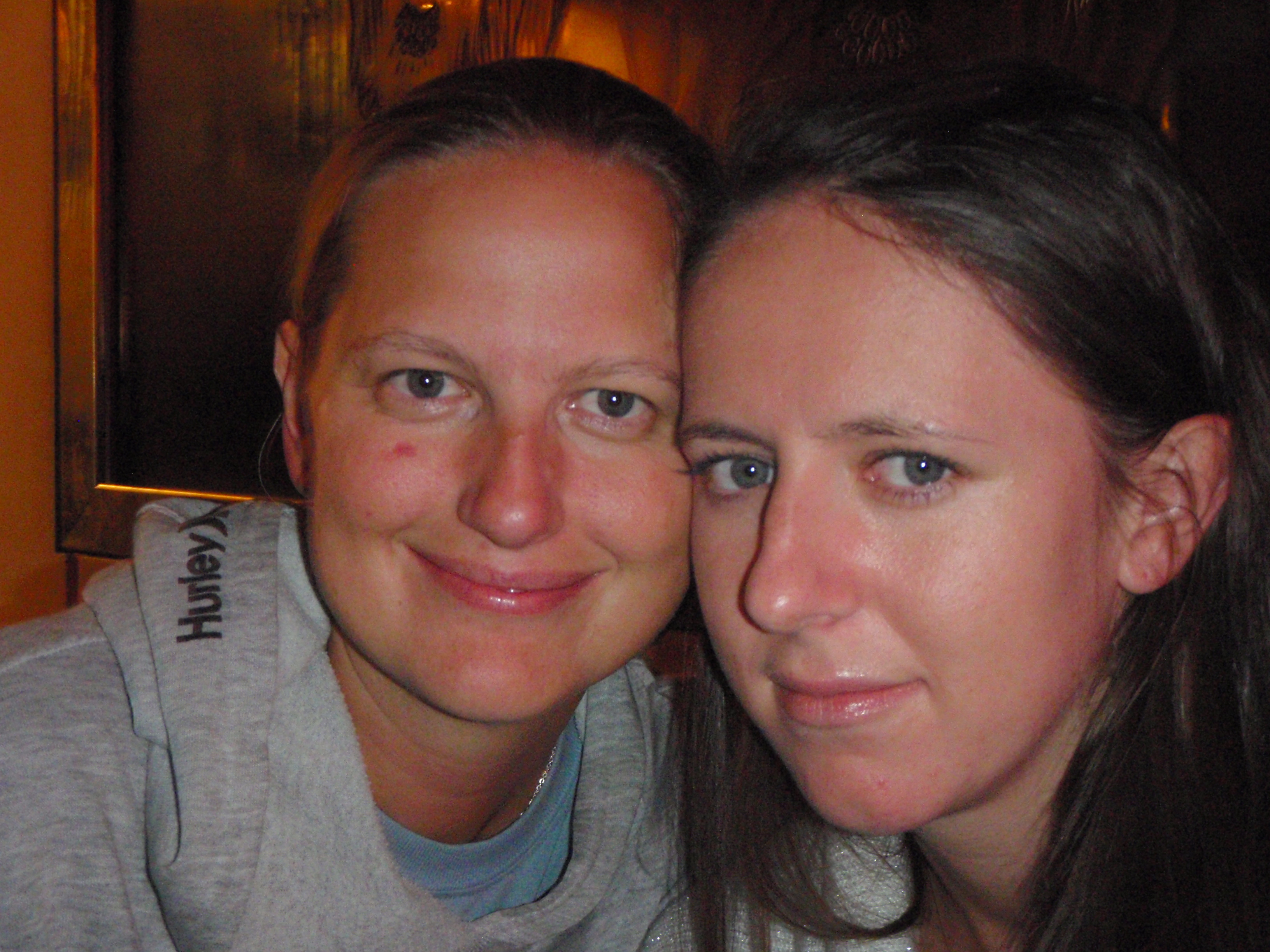 Polish Best Mate, Beata and I in Boat Hostel; Amsterdam, Netherlands; 2010