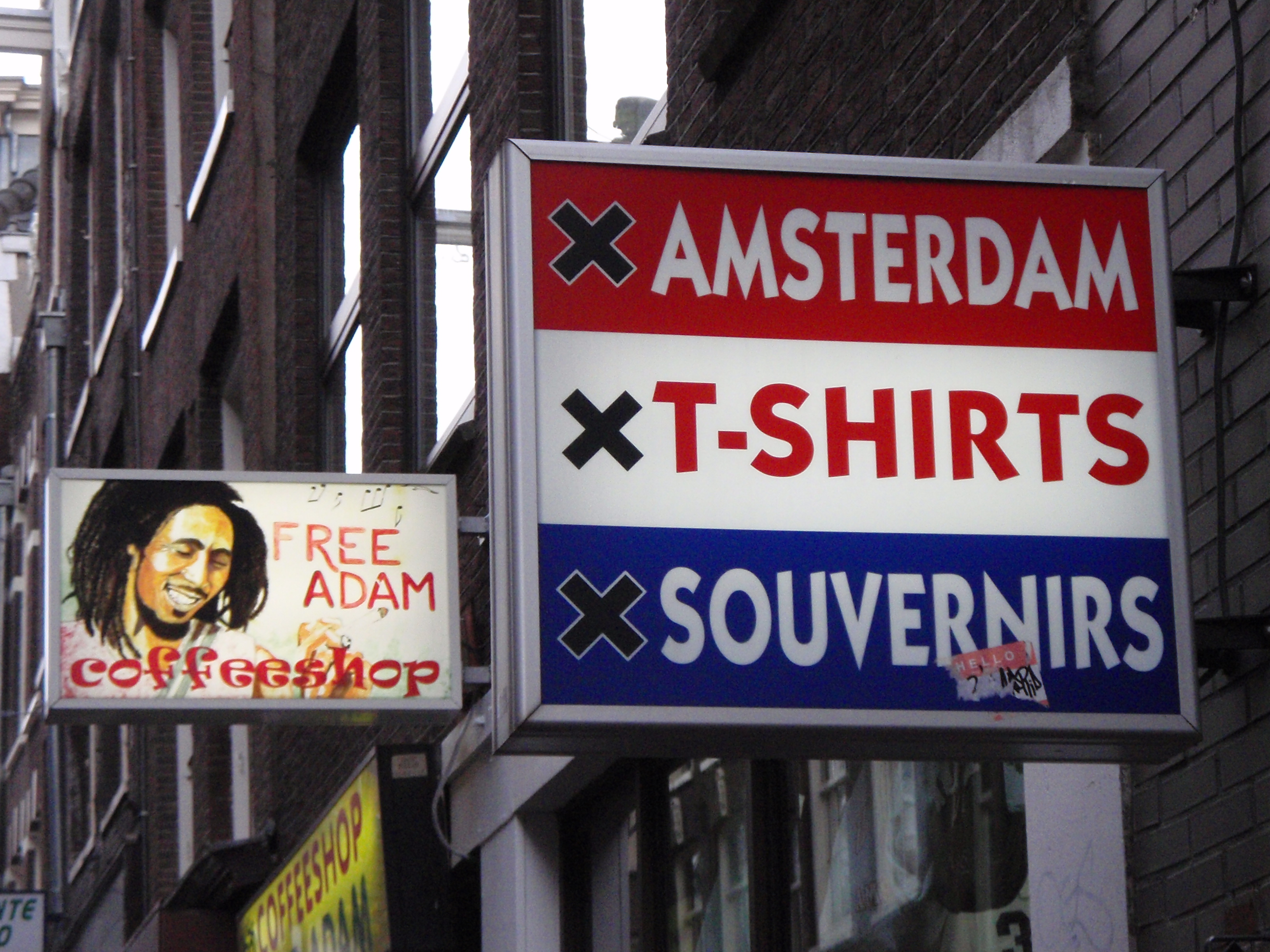 Souvenir Shops; Amsterdam, Netherlands; 2010