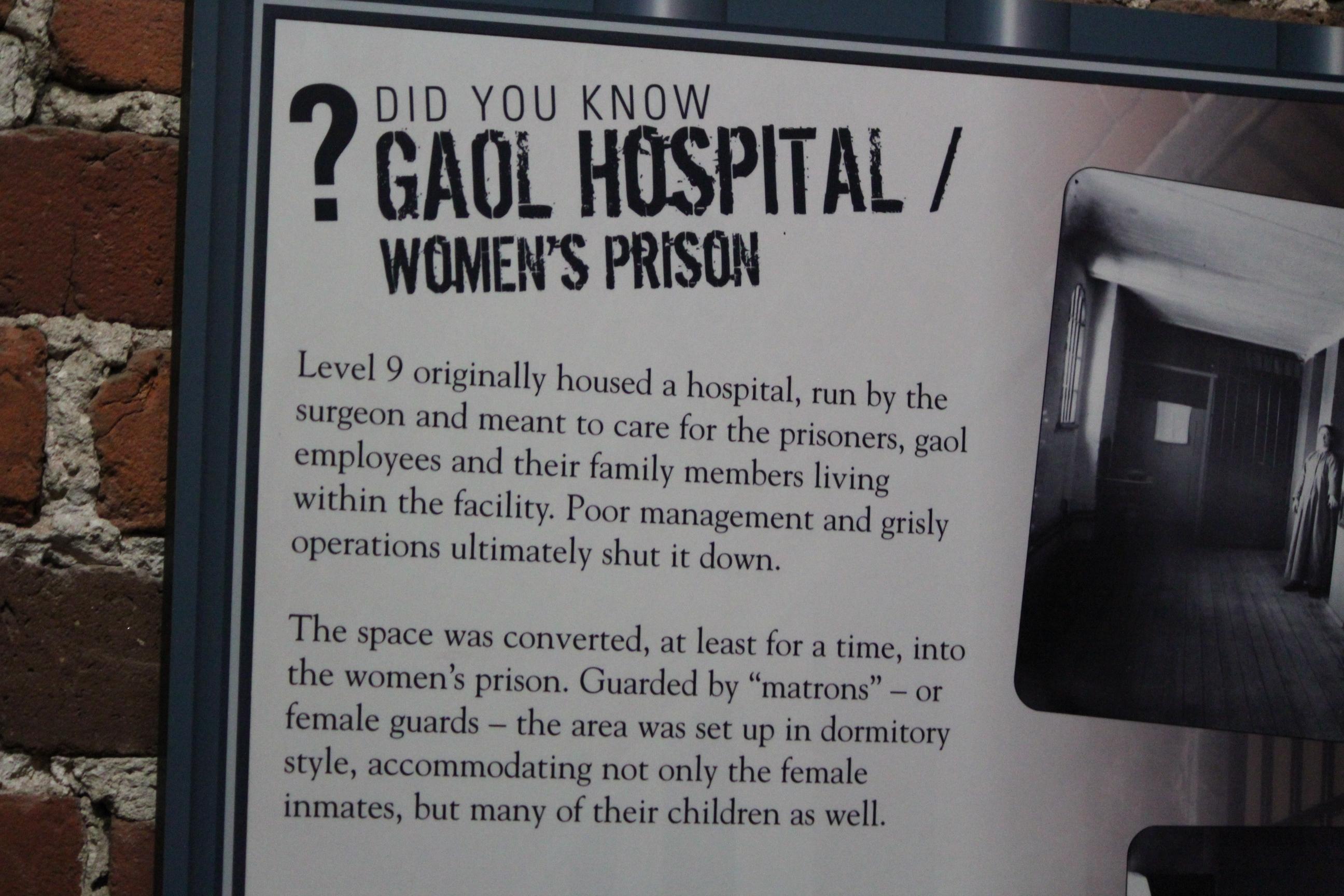 Gaol Hospital Women's Prison; Ottawa, Canada; 2011