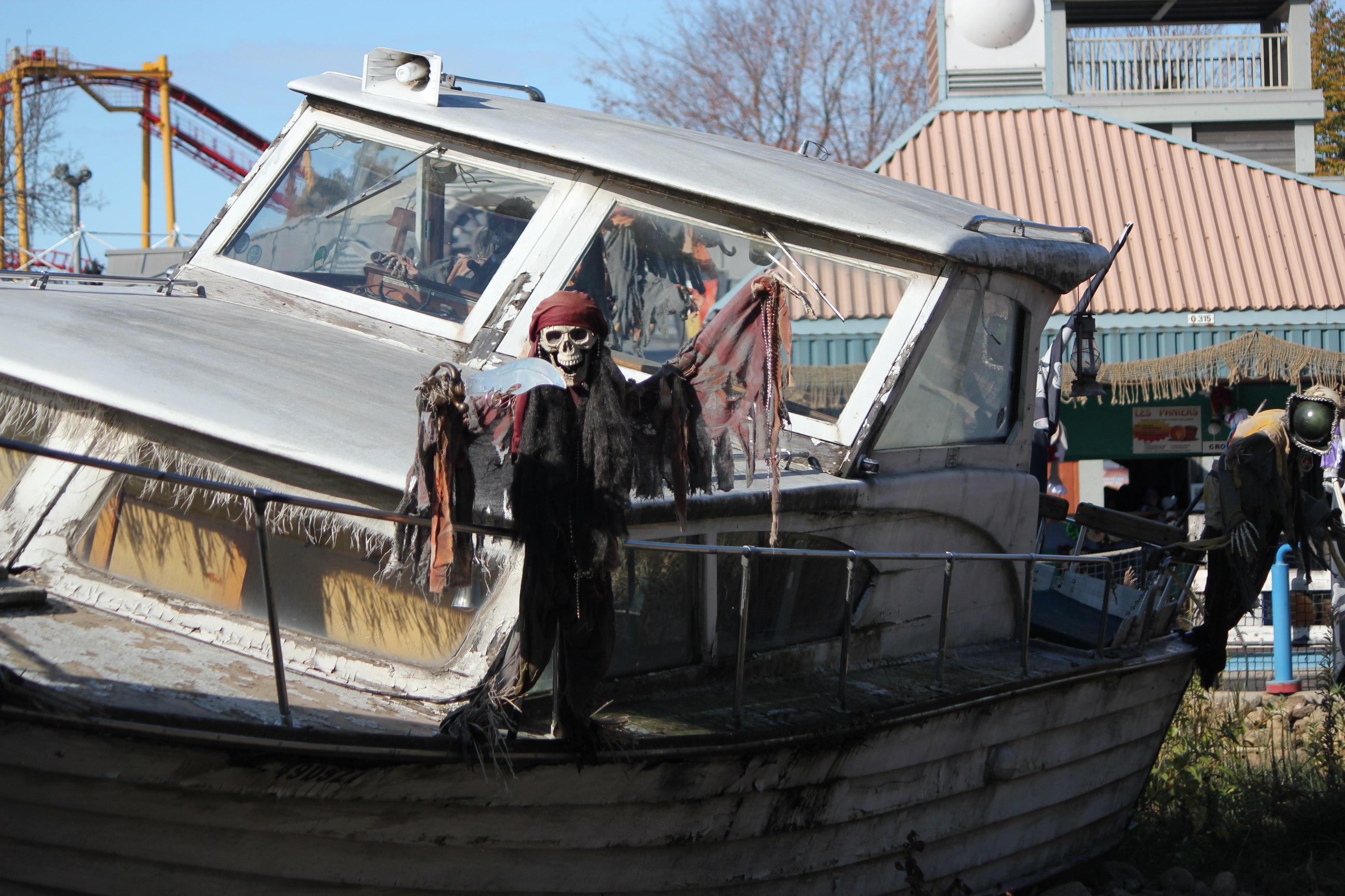 Skeleton on a Boat; Montreal, Canada; 2011