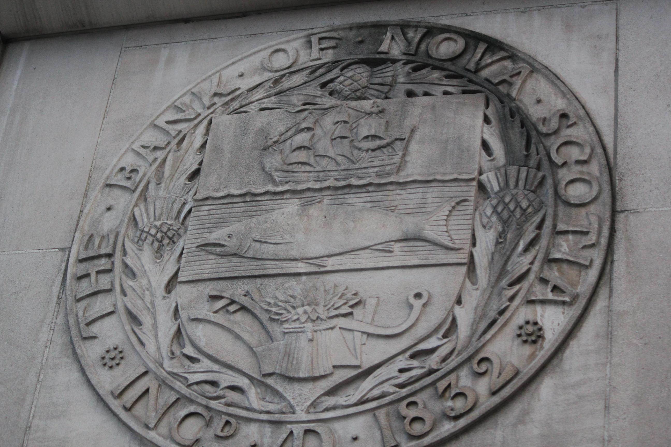 Bank of Nova Scotia Emblem; Toronto, Canada; 2011