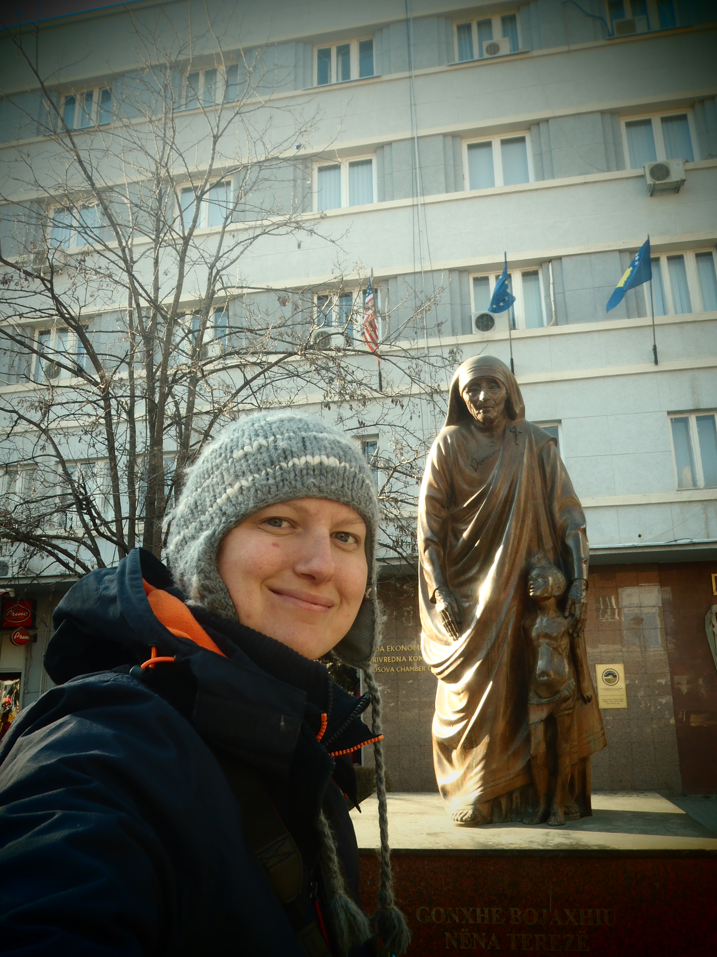 Mother Teresa and I; Pristina, Kosovo; 2013
