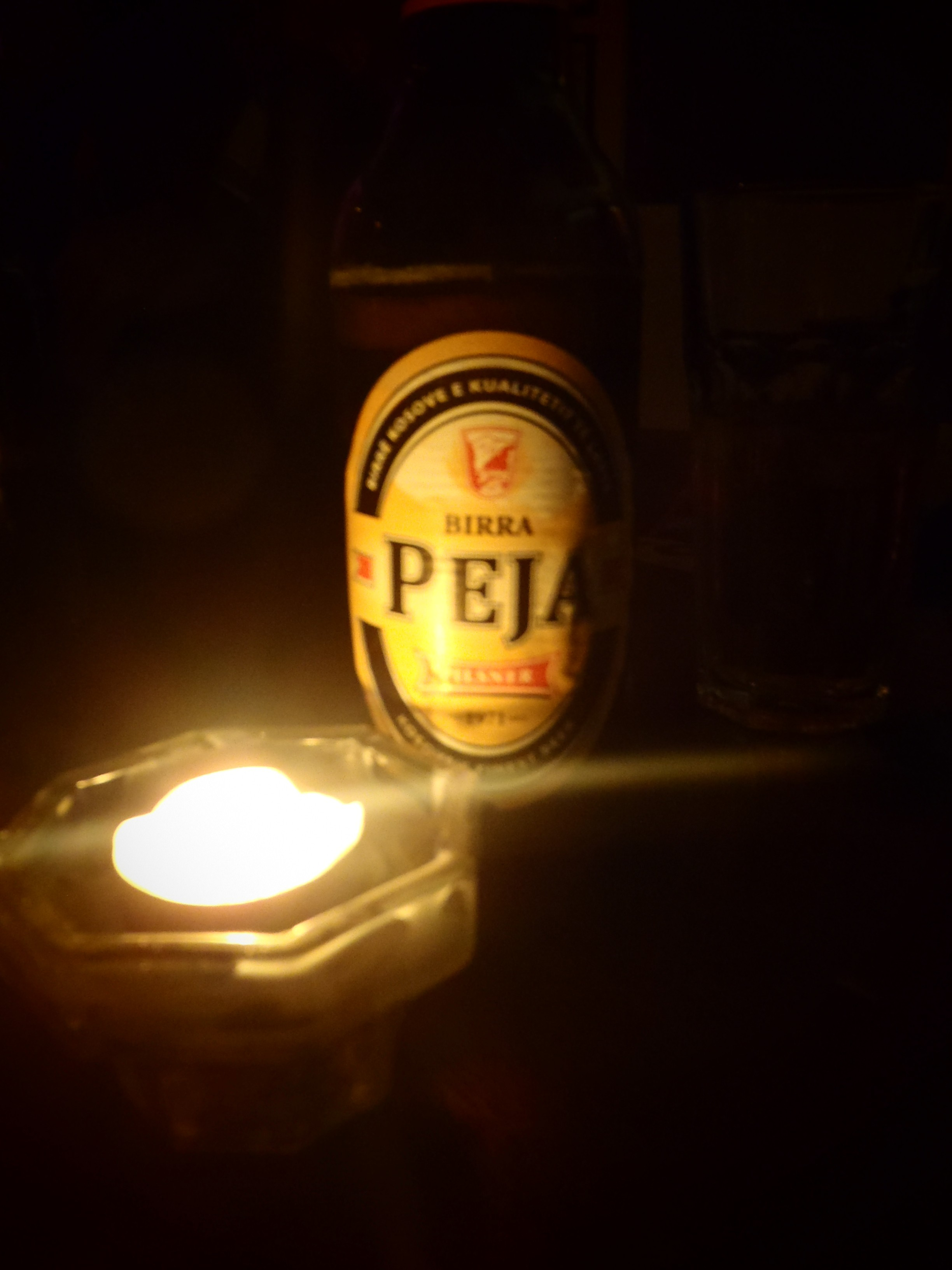 Creative Peja Beer Shot; Pristina, Kosovo; 2013