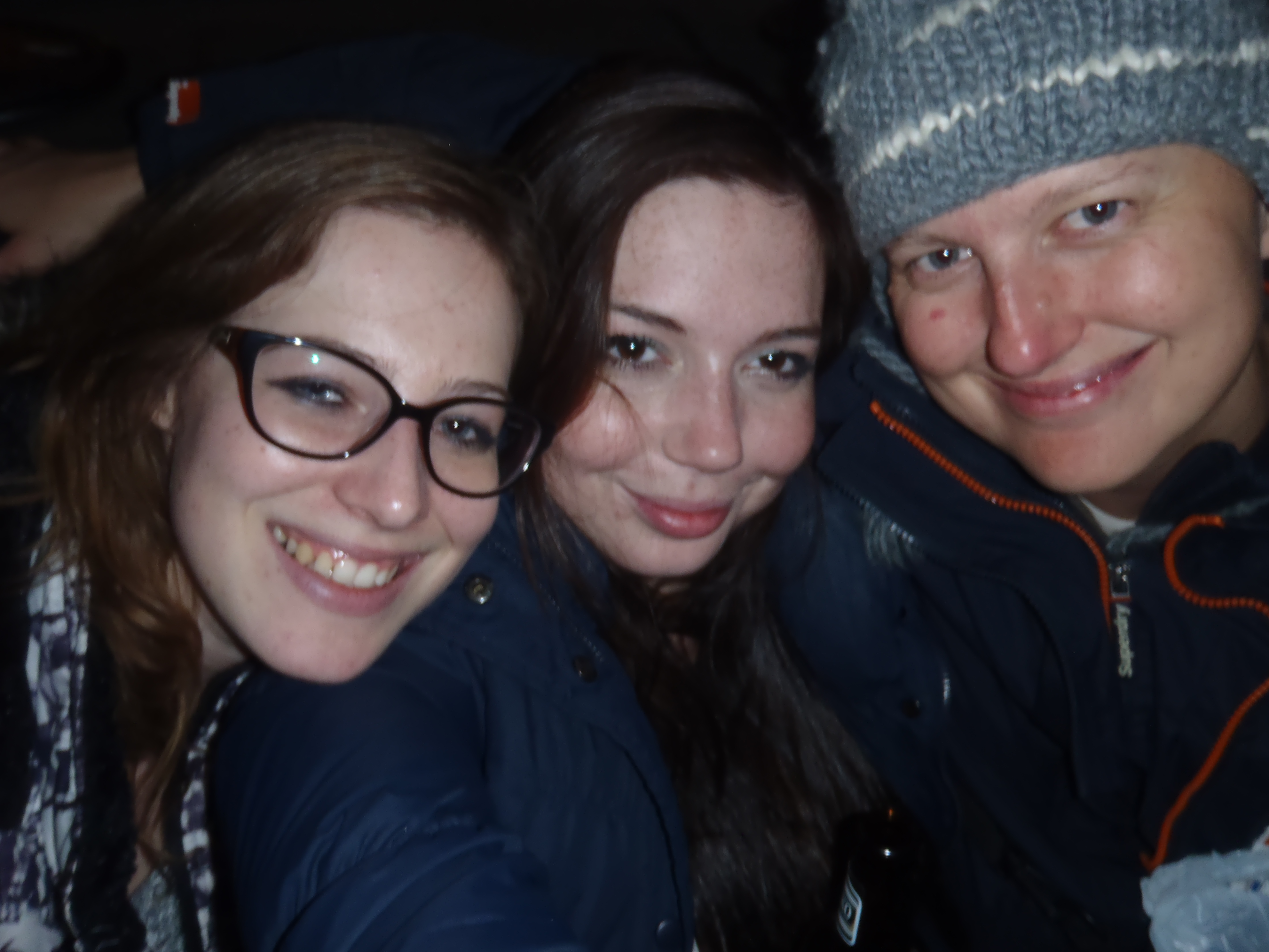 Martina, me, and Rosalie; Skopje, Republic of Macedonia; 2013