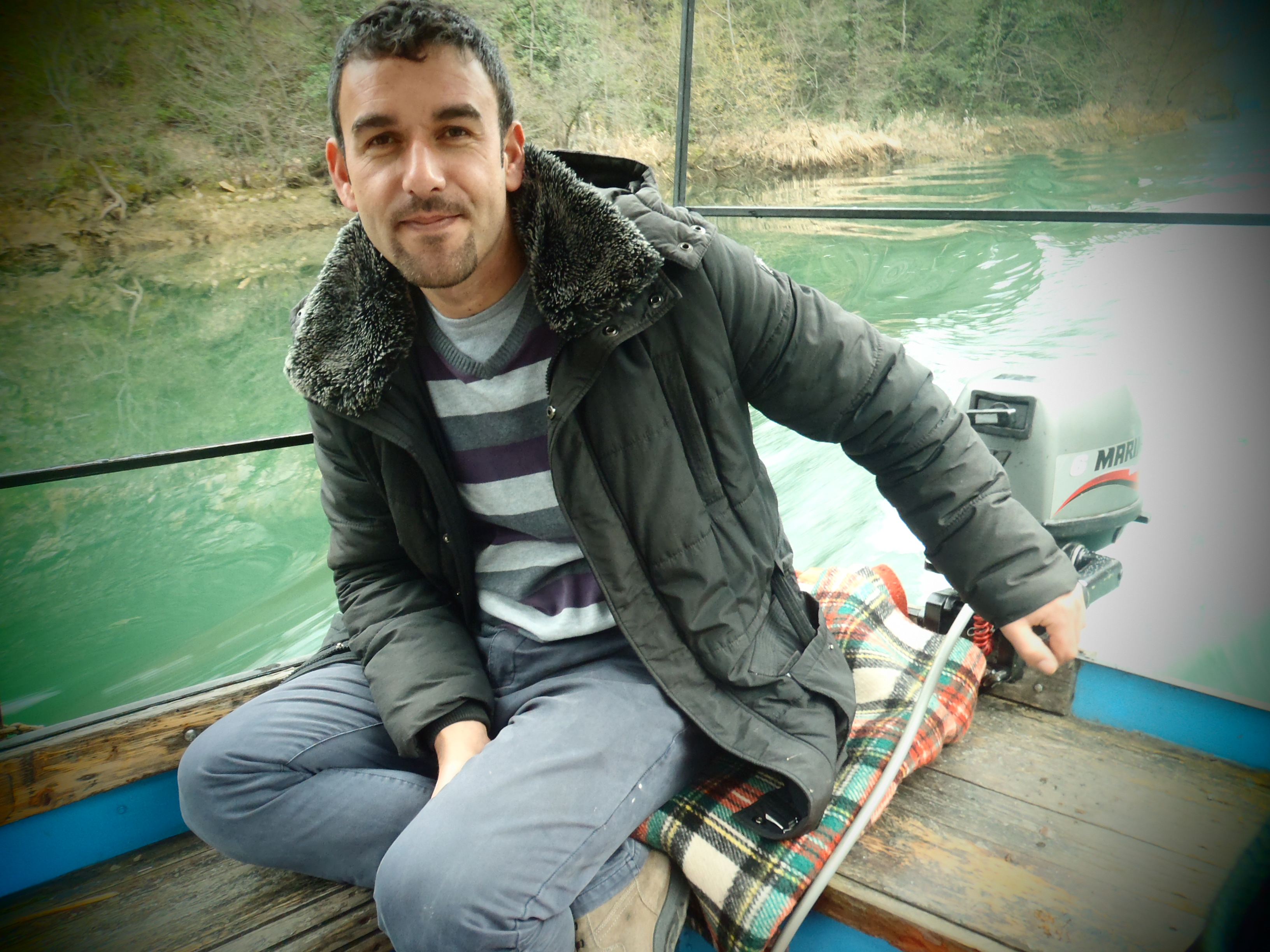 Boat Captain, Amet; Matka, Republic of Macedonia; 2013