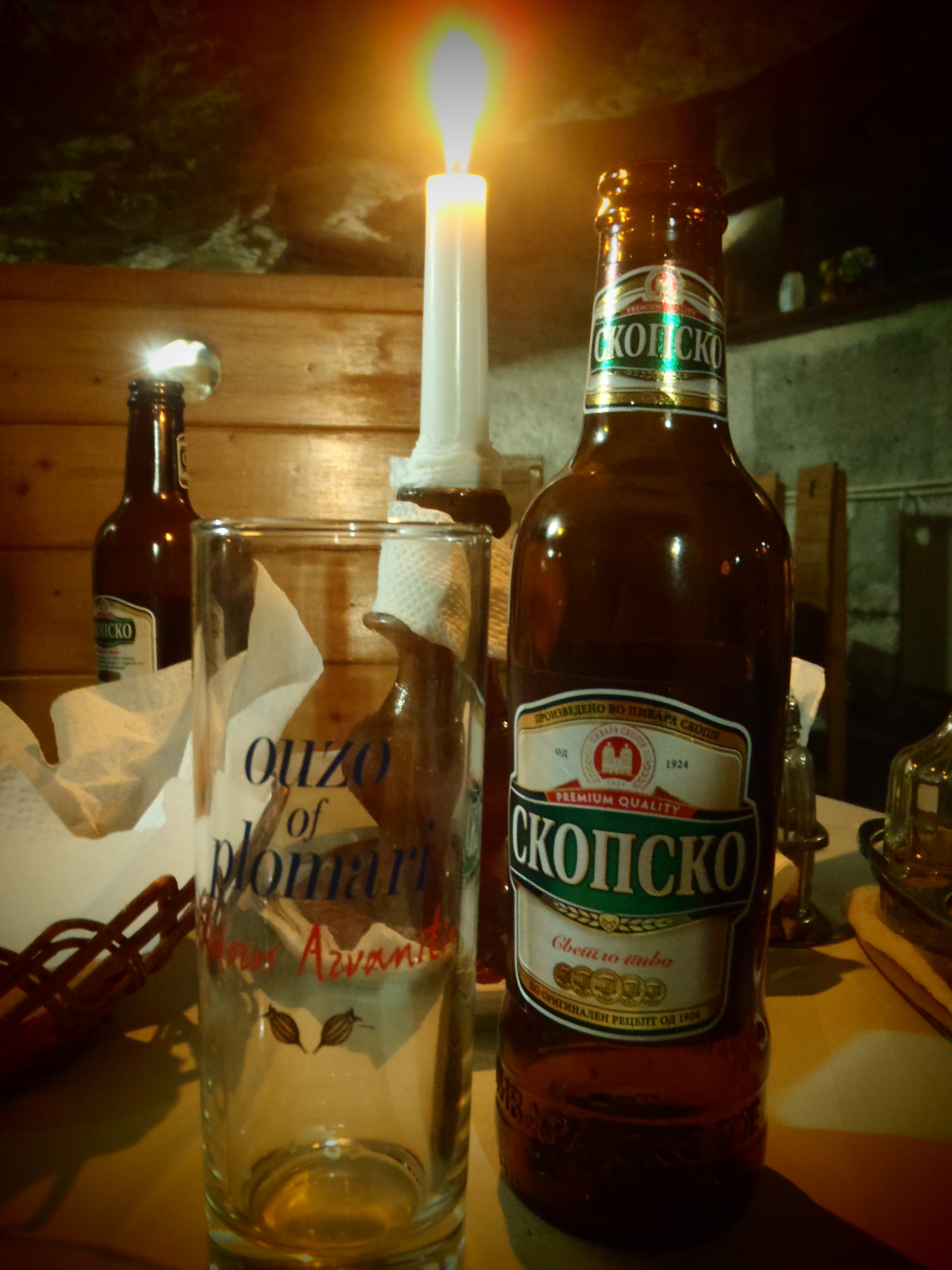 Macedonian Beer; Matka, Republic of Macedonia; 2013