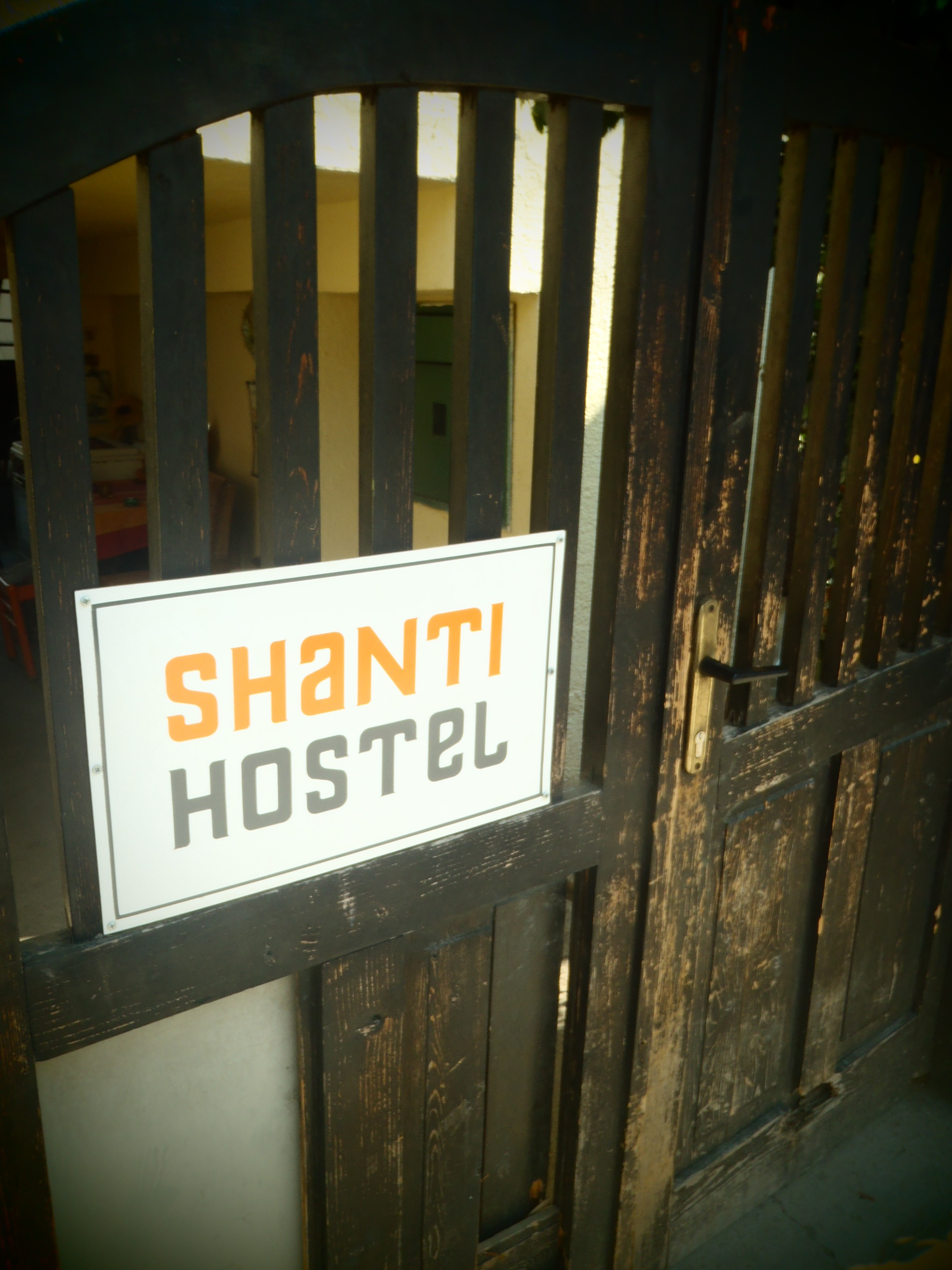 Shanti Hostel Entrance; Skopje, Republic of Macedonia; 2013